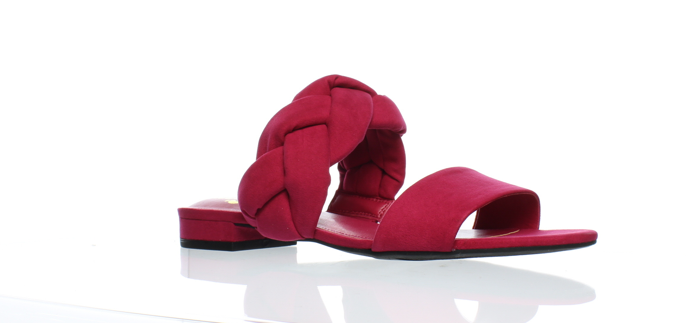 cb47269145b4ae Details about New Circus by Sam Edelman Womens Danielle Pink Magenta Slides  Size 7.5