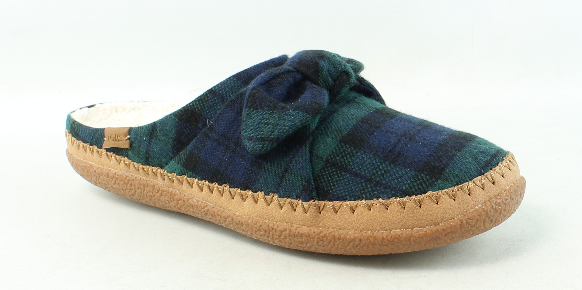 197a839ecc3 TOMS Womens Ivy Green Mule Slippers Size 9 (242338)