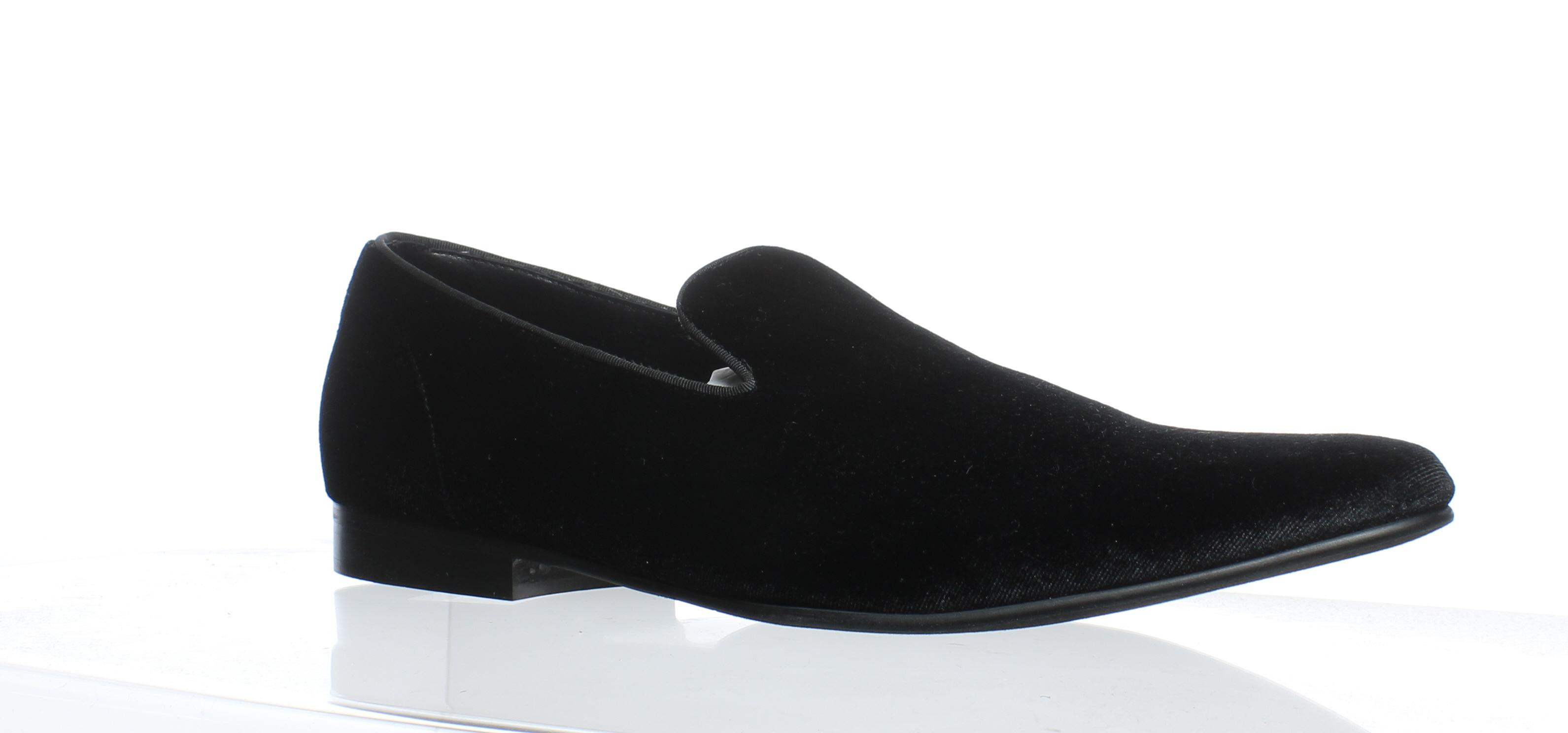 132cccabcb3 Details about Steve Madden Mens Laight Black Velvet Loafers Size 11.5  (242553)