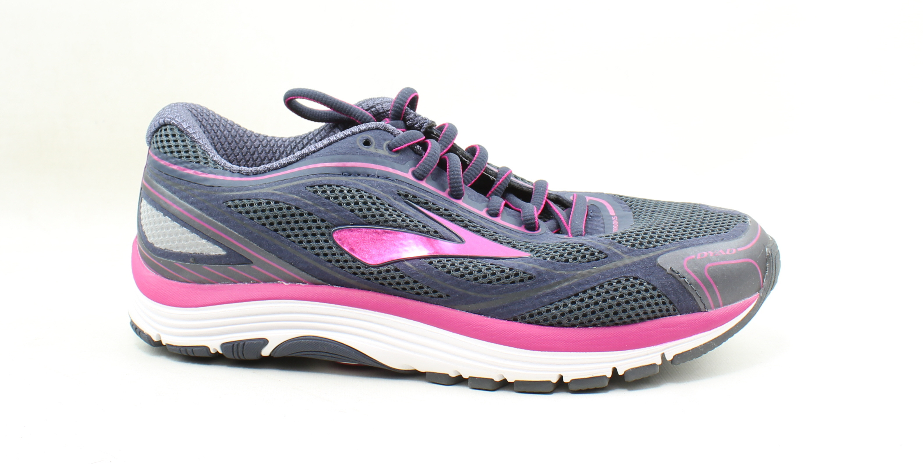 5c801c8a142f8 Details about Brooks Womens Dyad 9 Blue Running Shoes Size 7.5 (248502)