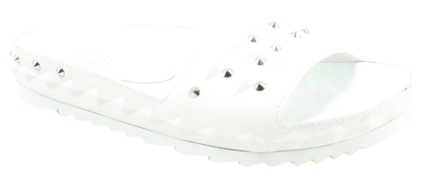 Man's/Woman's Ash Womens Strong Unique White Slides (25294) Strong Womens heat and wear resistance Orders are welcome King of the crowd ddc1e1