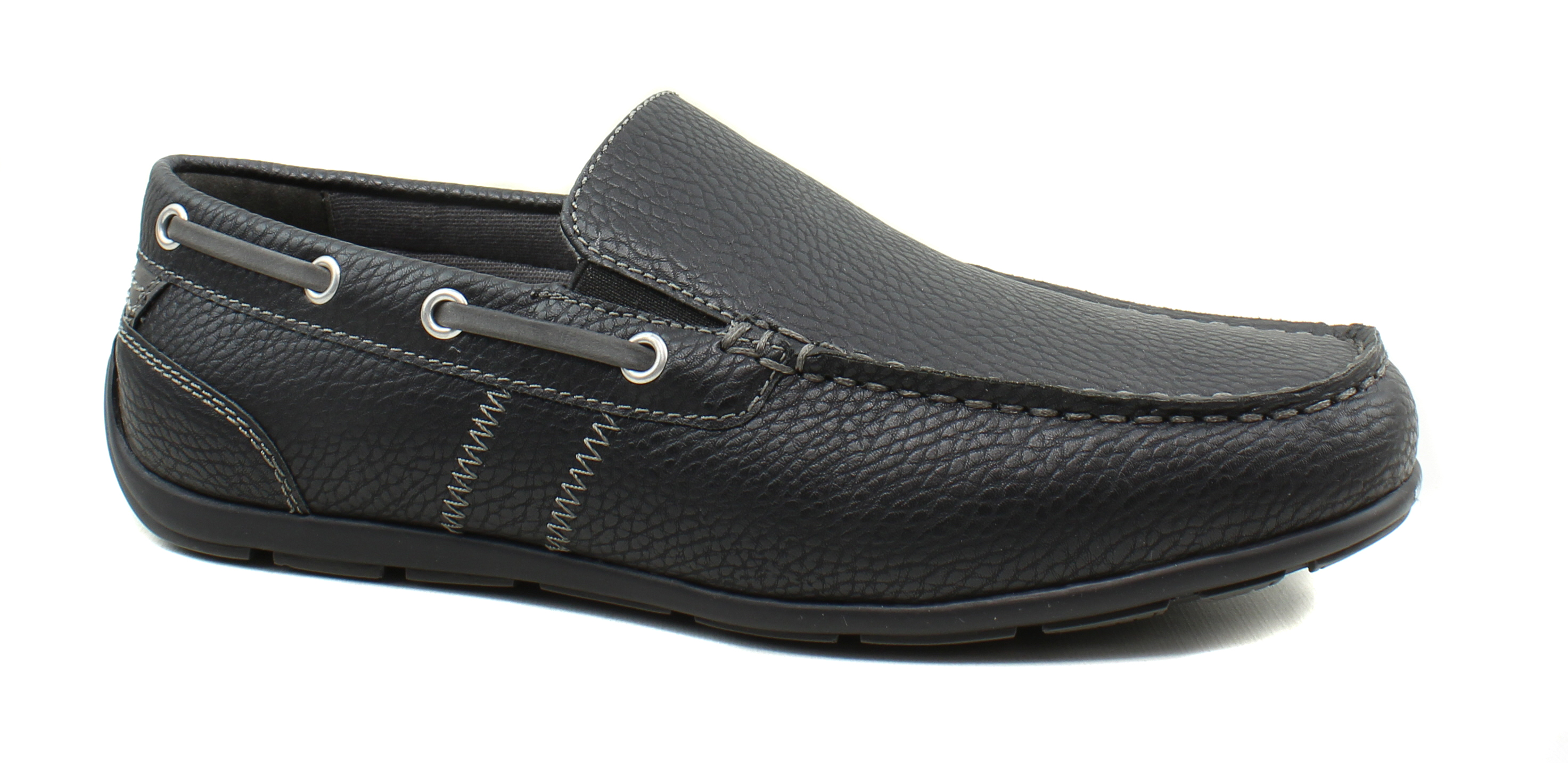 GBX Ludlam Mens Black Leather Casual
