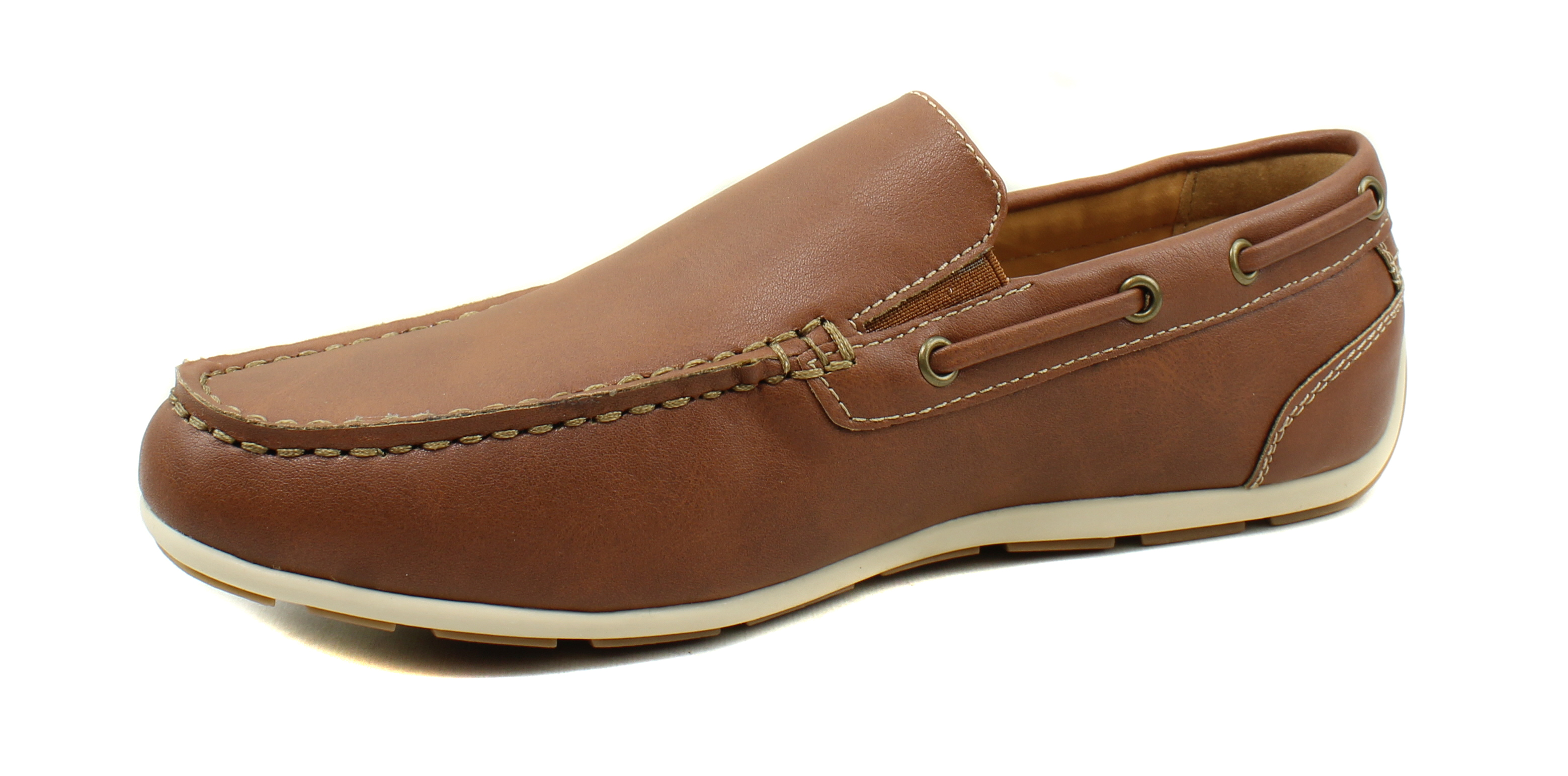 GBX-Homme-Ludlam-Casual-Moc-toe-Slip-on-Chaussures-Bateau-Driving-Loafers miniature 31