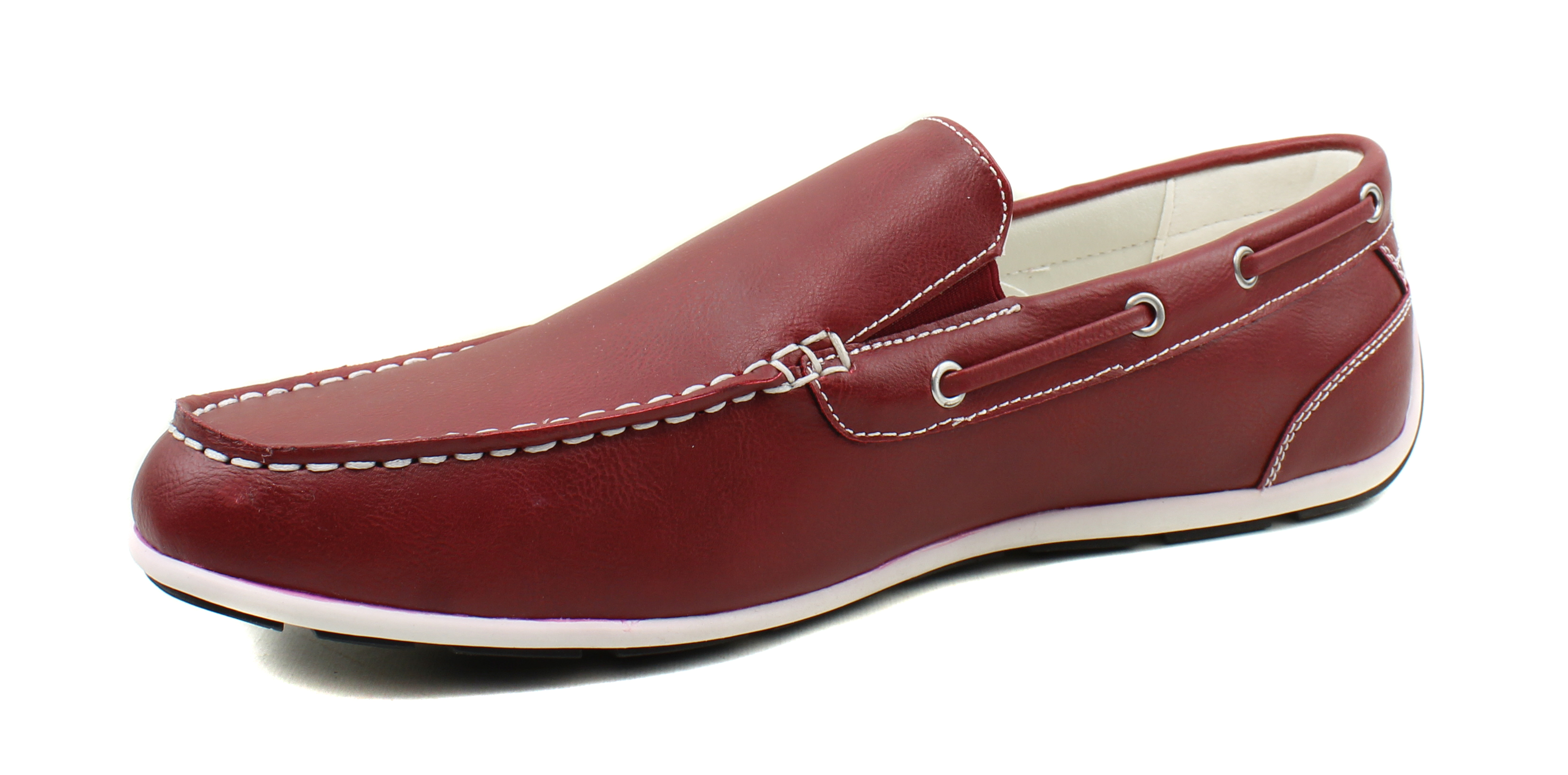 GBX-Homme-Ludlam-Casual-Moc-toe-Slip-on-Chaussures-Bateau-Driving-Loafers miniature 27