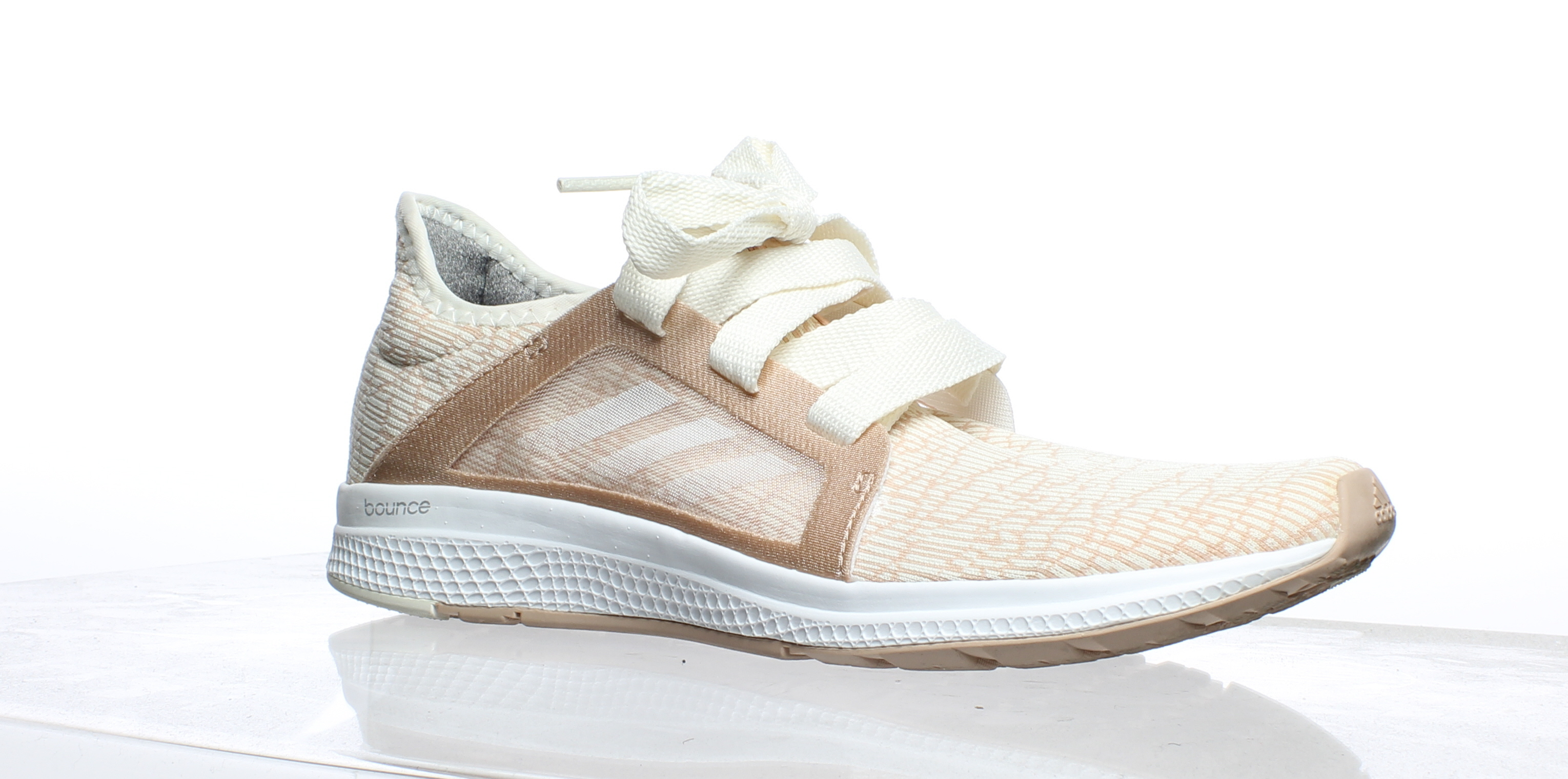 90da7eca4 Details about Adidas Womens Edge Lux Rose Gold Running Shoes Size 8 (255005)