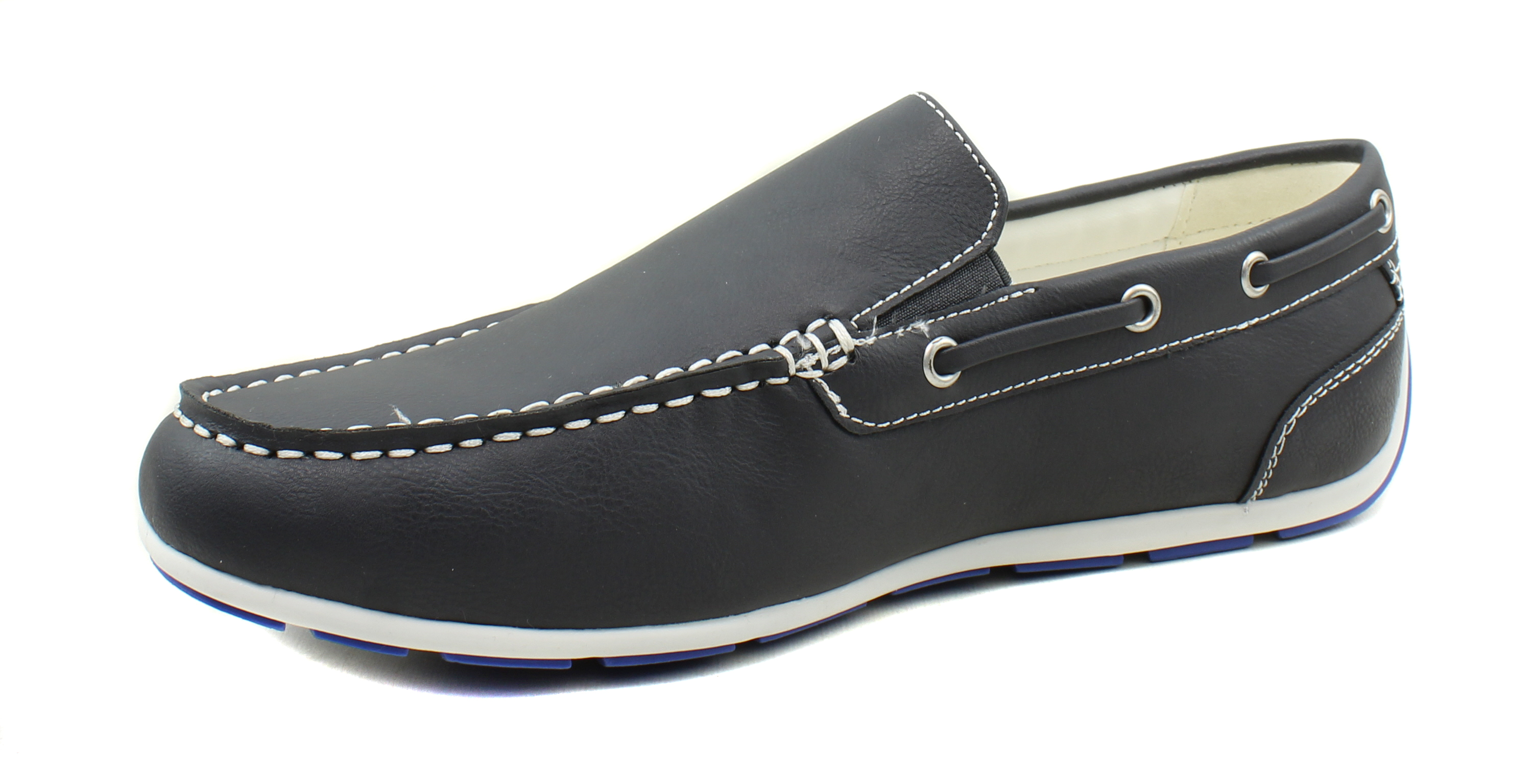 GBX-Homme-Ludlam-Casual-Moc-toe-Slip-on-Chaussures-Bateau-Driving-Loafers miniature 23