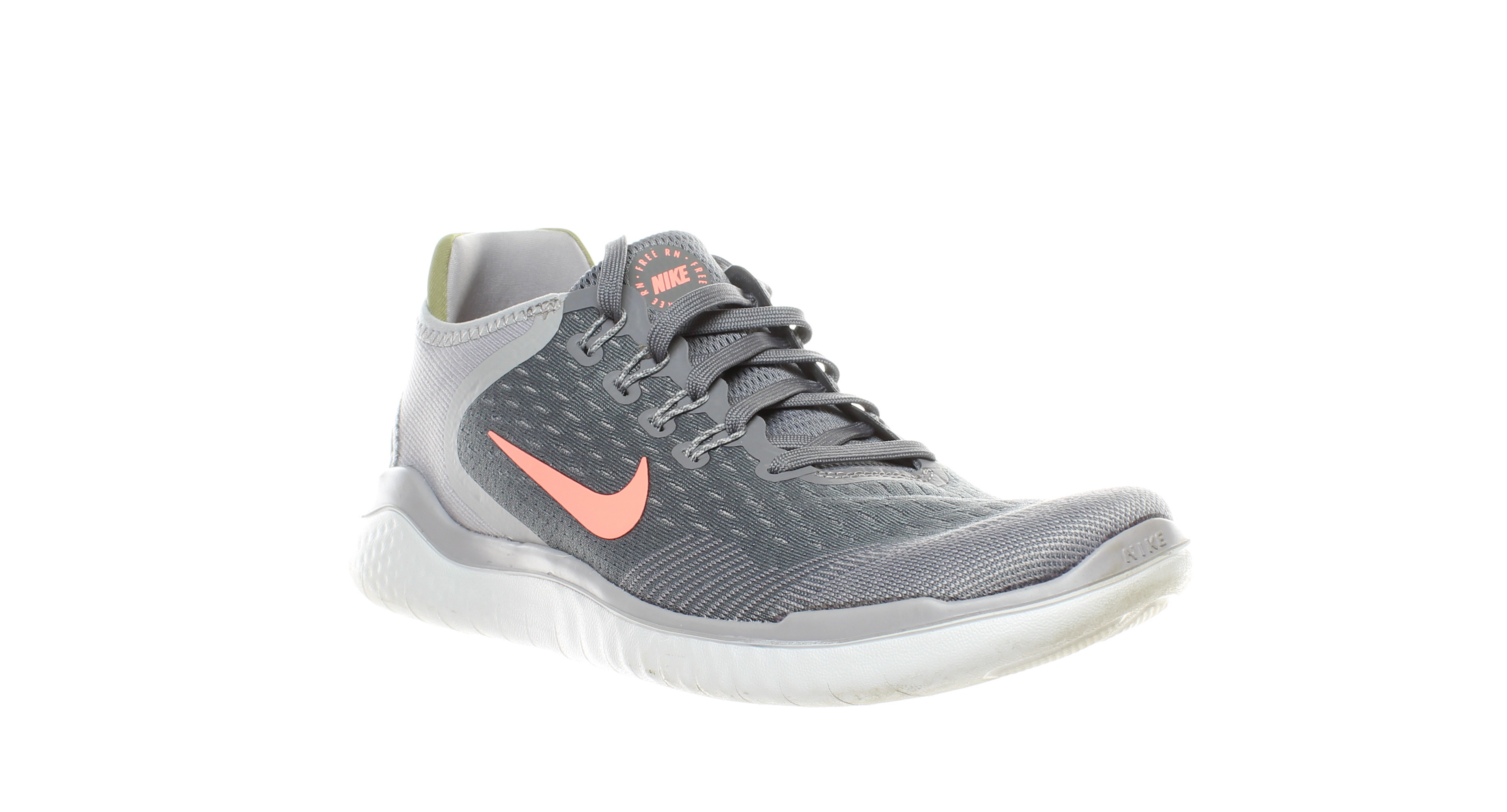 official photos ca179 246e2 Details about Nike Womens Nike Free Rn 2018 Gray Running Shoes Size 9  (270755)
