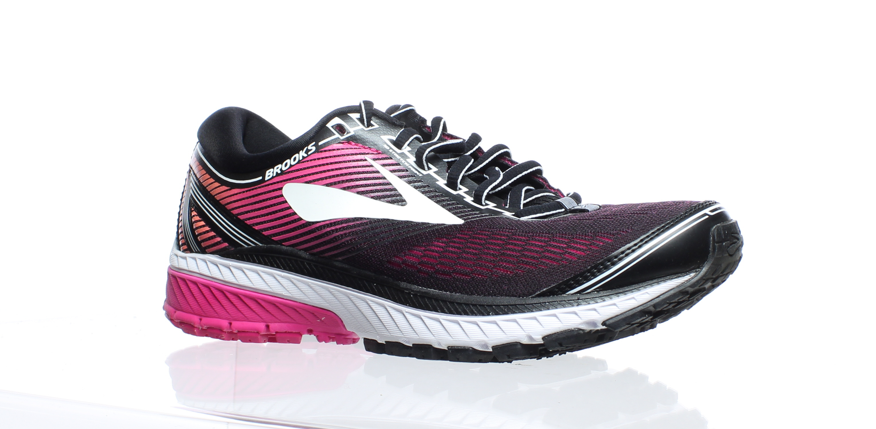 e81bcc7626b45 Details about Brooks Womens Ghost 10 Black Running Shoes Size 7.5 (272440)