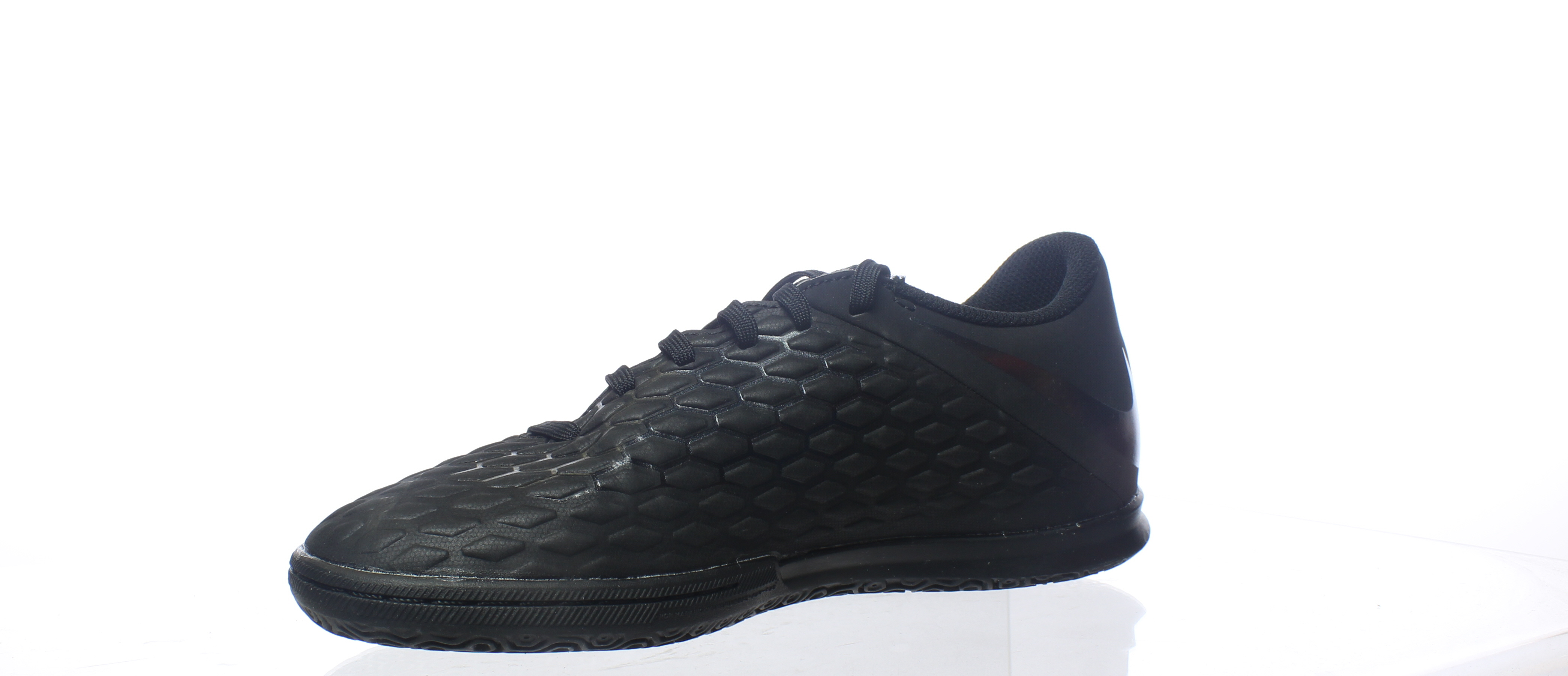 392c4df1198 Nike Mens Hypervenom Phantomx 3 Club Ic Black Indoor Soccer Shoes ...