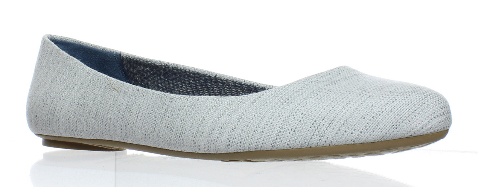 New Gray Dr. Scholl's Womens Really Gray New Ballet Flats Size 8.5 273b0e
