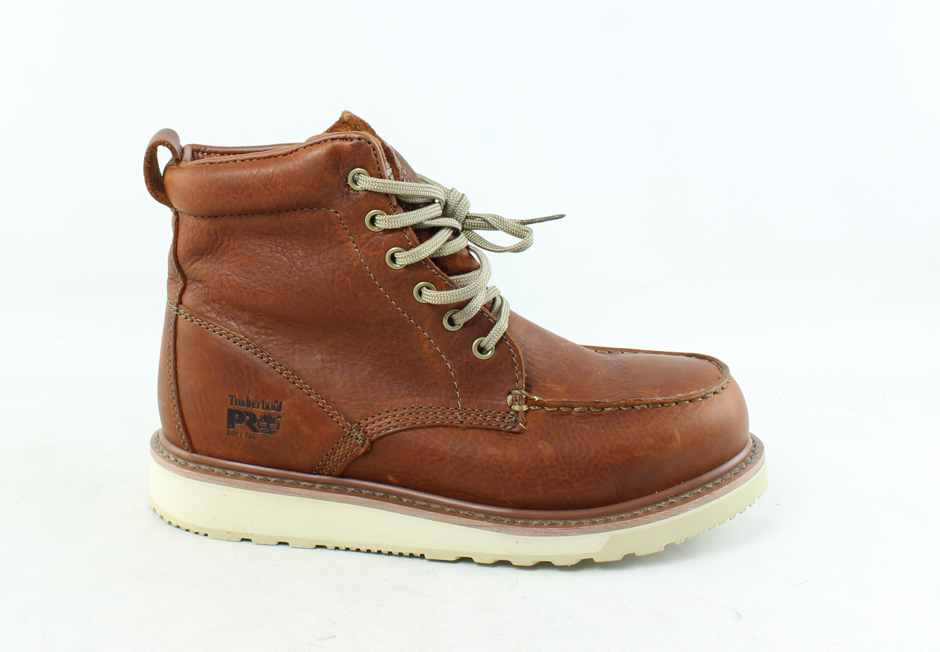 931fb29b8a1 Details about Timberland PRO Mens Wedge Sole 6 Rust Work   Safety Boots  Size 8 (280144)