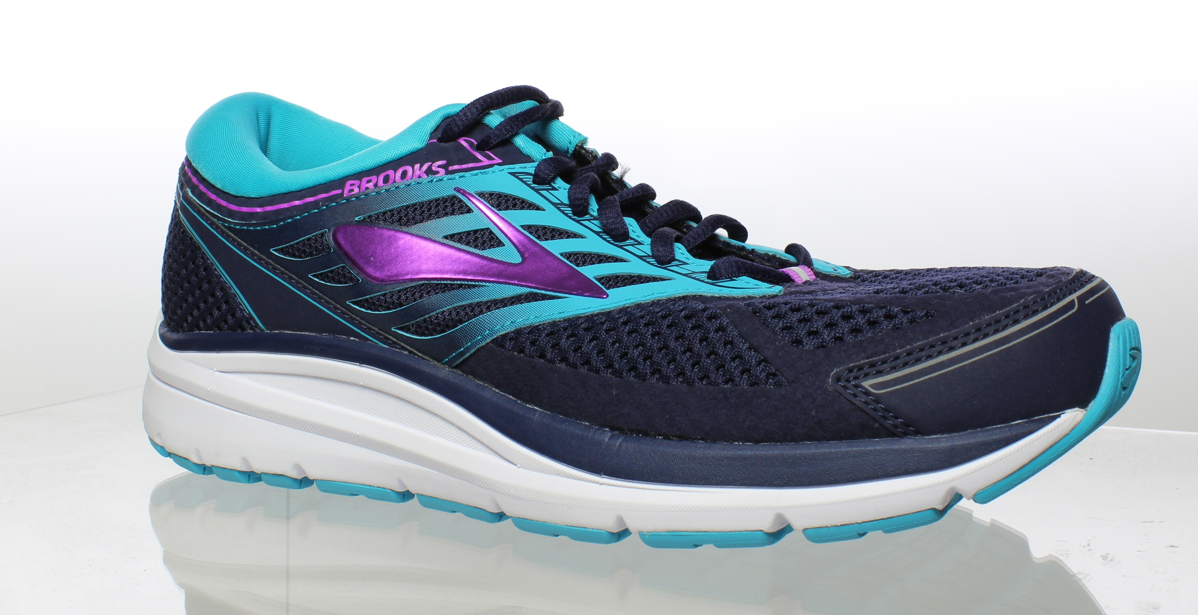 Brooks Womens Addiction 13 Blue Running Shoes Size 11 (28419)