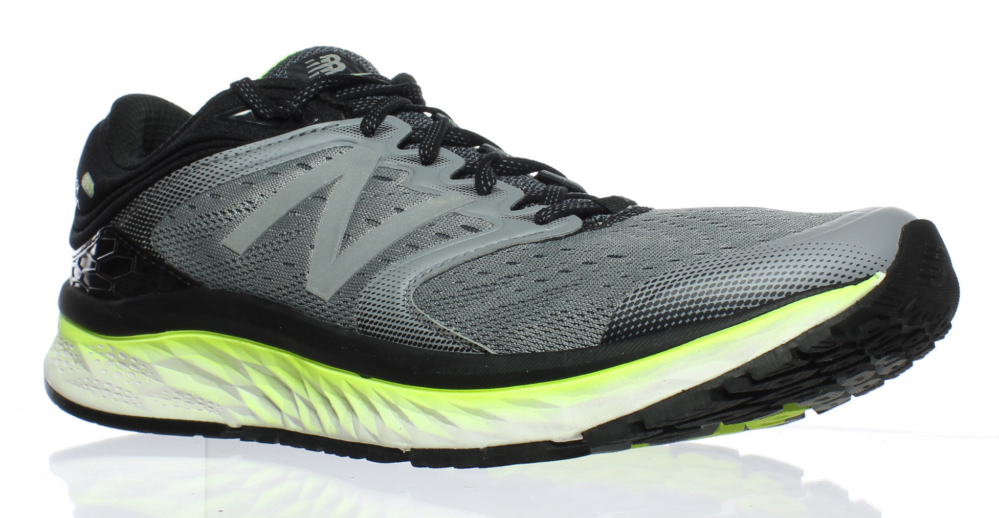 New Balance hommes M1080gy8 Gris /Yellow Running Chaussures