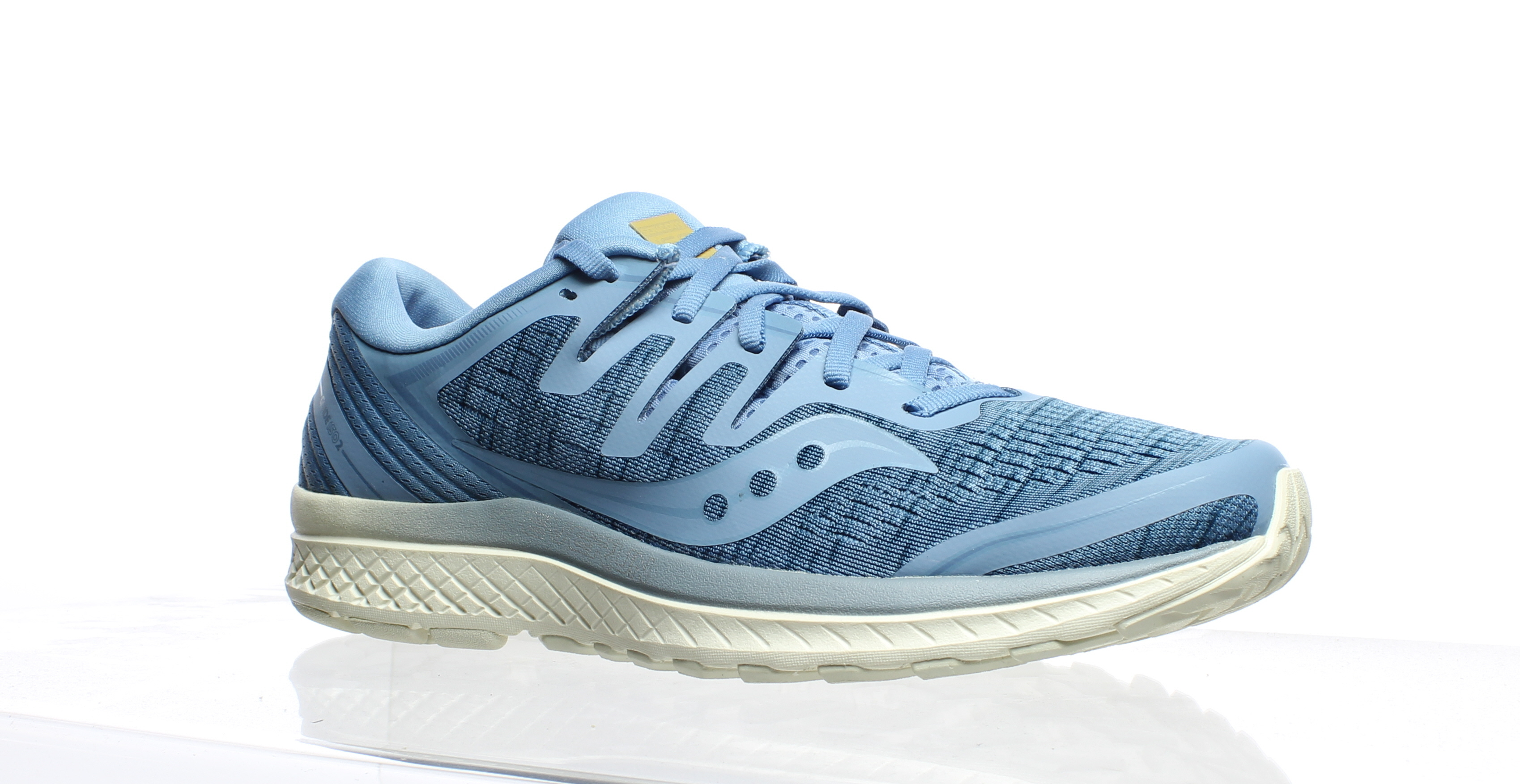 20f96ecd1b Saucony Womens Guide Iso 2 Blue Shade Running Shoes Size 10 (299355 ...