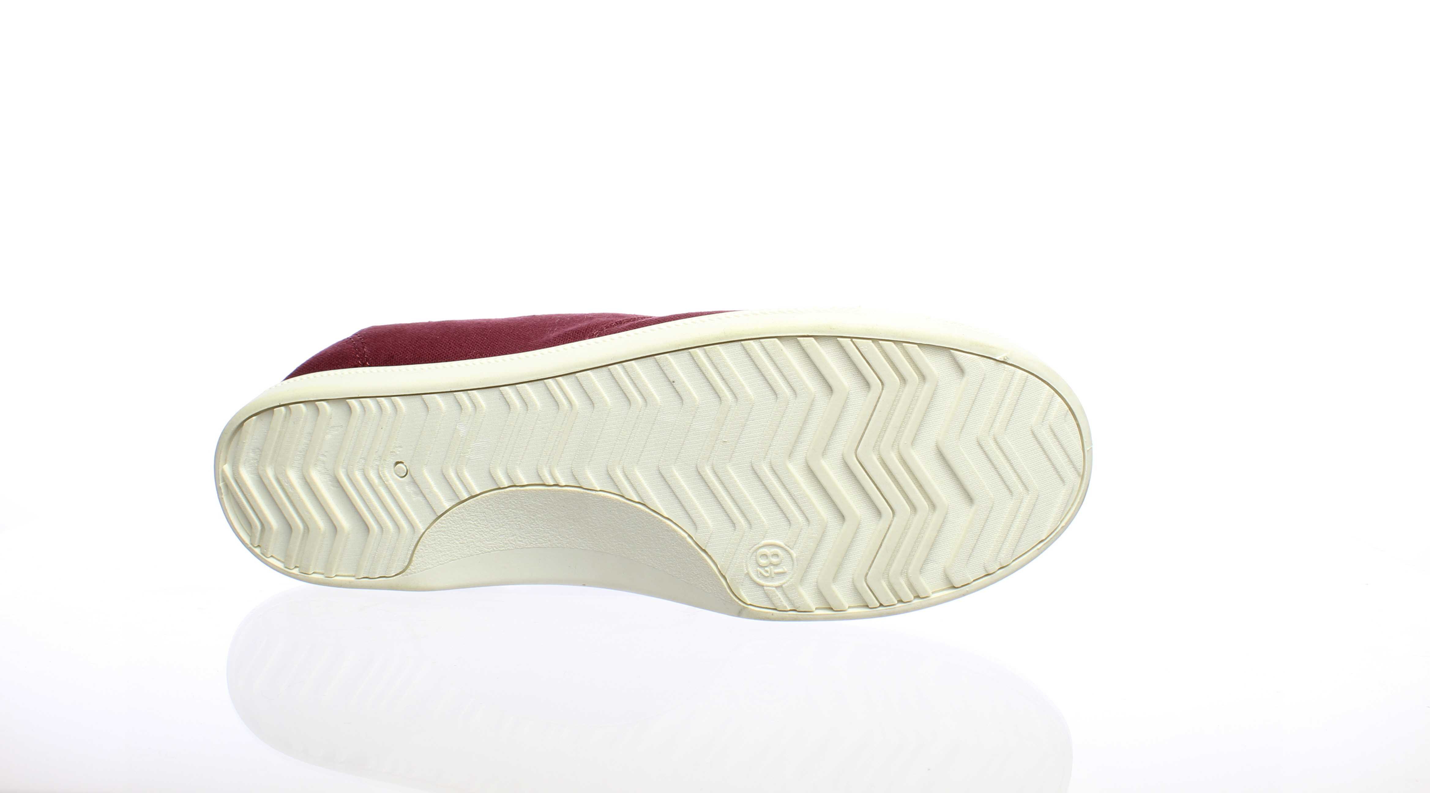 fd1c1fdf37ef9 Details about Madden Girl Womens Brrookee Burgundy Fabric Fashion Sneaker  Size 8.5 (309098)