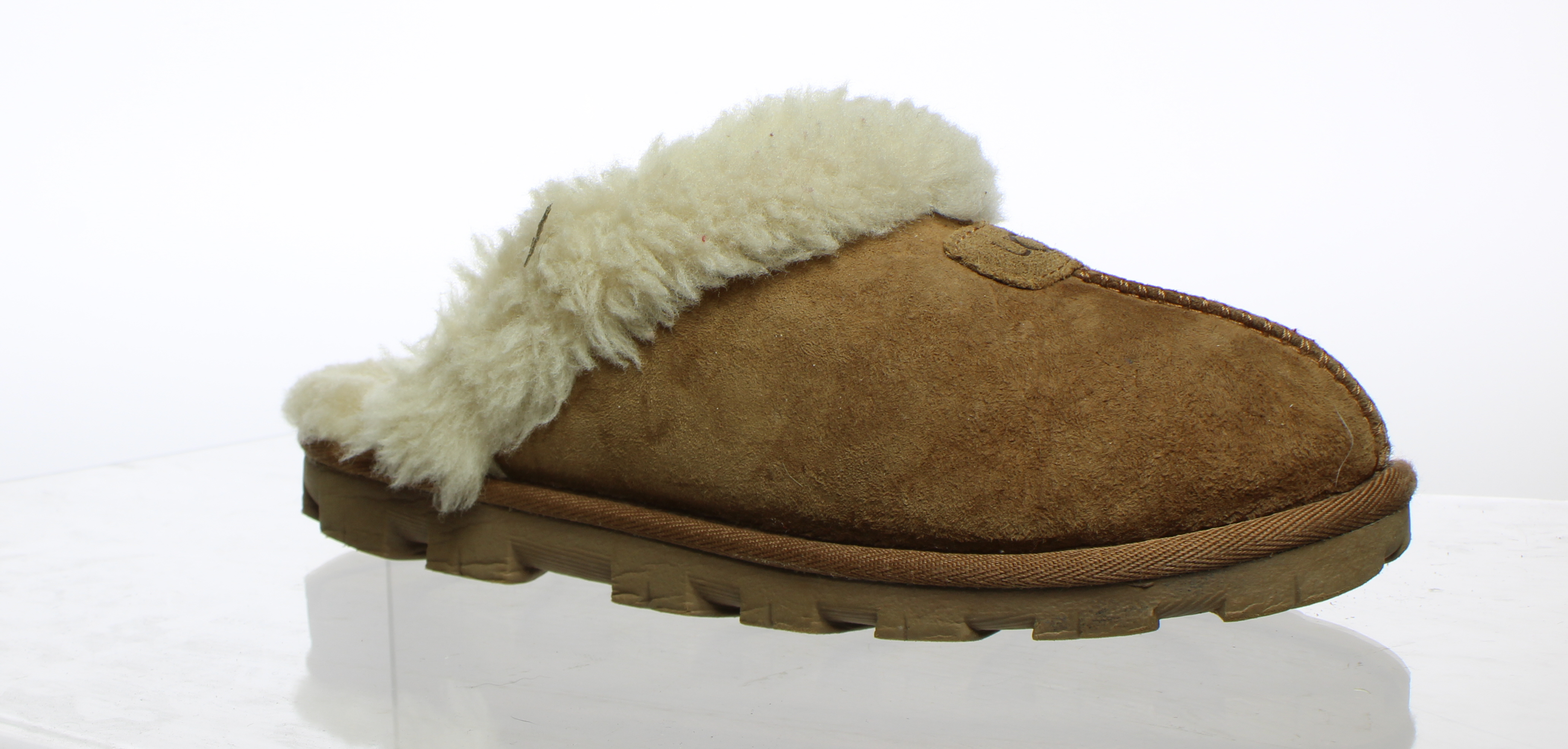 1fe9a7d3654 Details about UGG Womens Coquette Chestnut Mule Slippers Size 6 (318615)