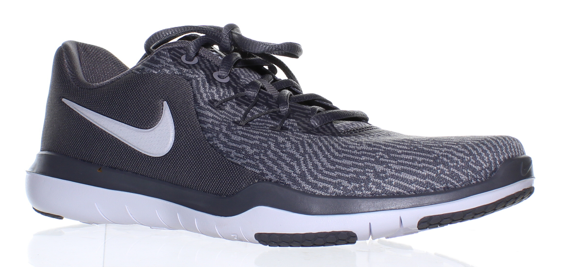 Nike Womens Flex Supreme Tr 6 Gray Running Shoes Size 9 (33970)