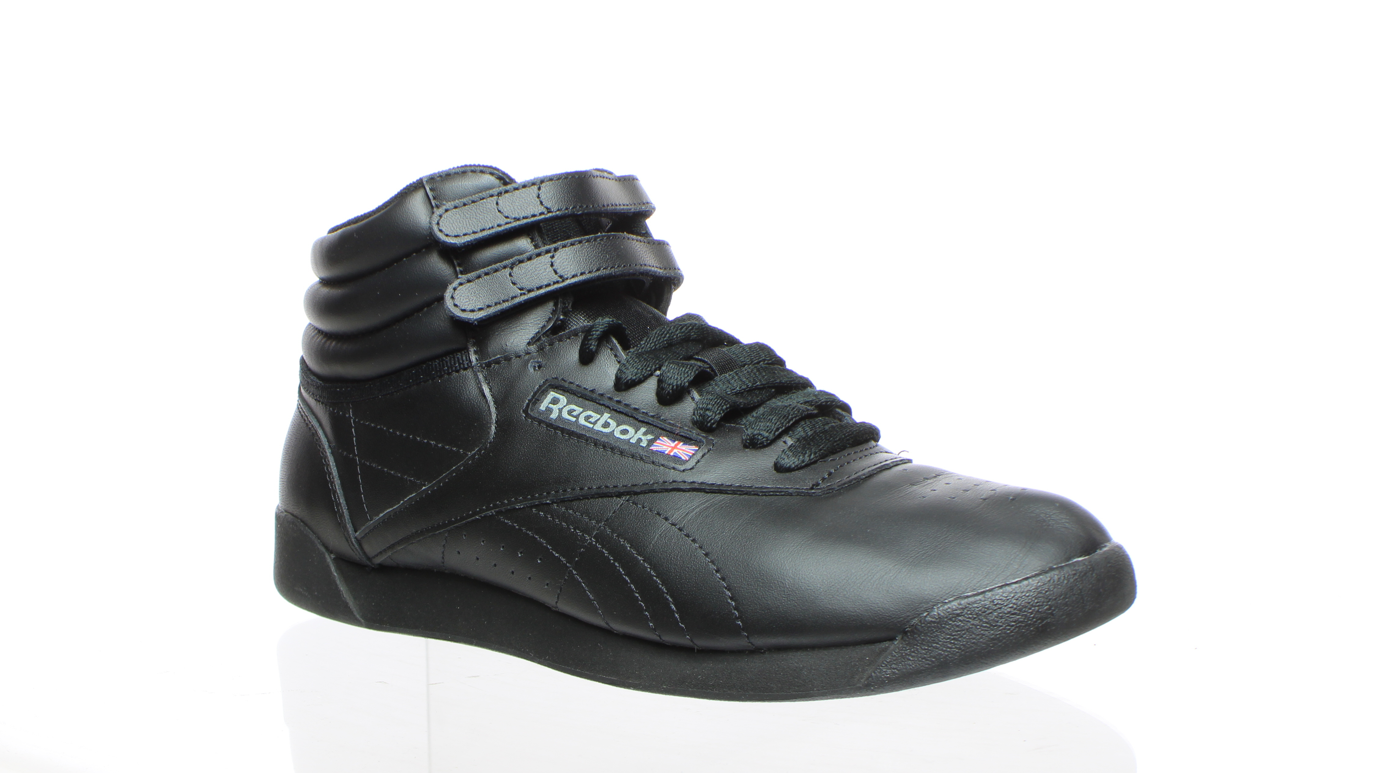 Details about Reebok Womens Freestyle Hi W Black Walking Shoes Size 8.5 (355968)
