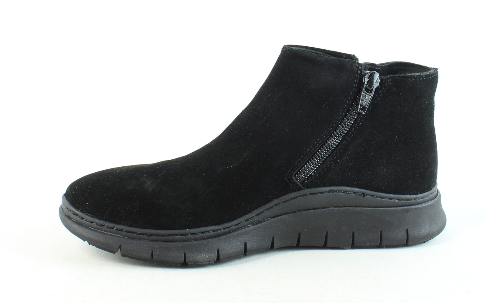 Vionic-Womens-Fresh-Dylan-Suede-Side-Zip-Casual-Comfort-Ankle-Boots thumbnail 5