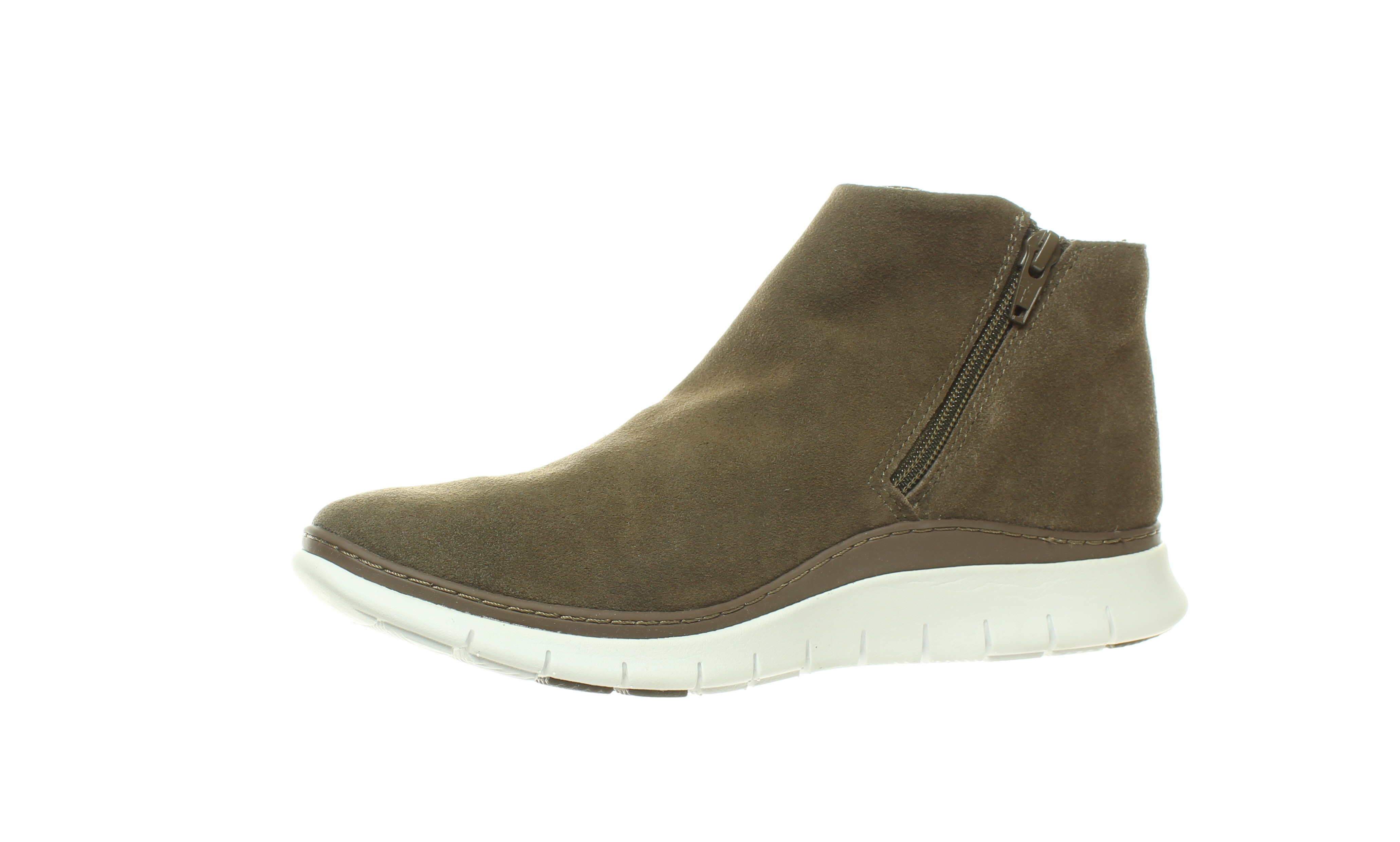 Vionic-Womens-Fresh-Dylan-Suede-Side-Zip-Casual-Comfort-Ankle-Boots thumbnail 13