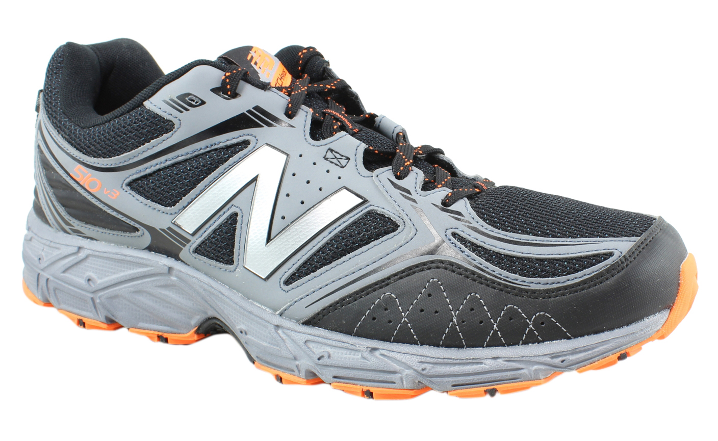 online store 6ce72 a8808 New Balance Mens Mt510ll3 Black Grey Hiking Shoes Size 15 15 15 (36861)