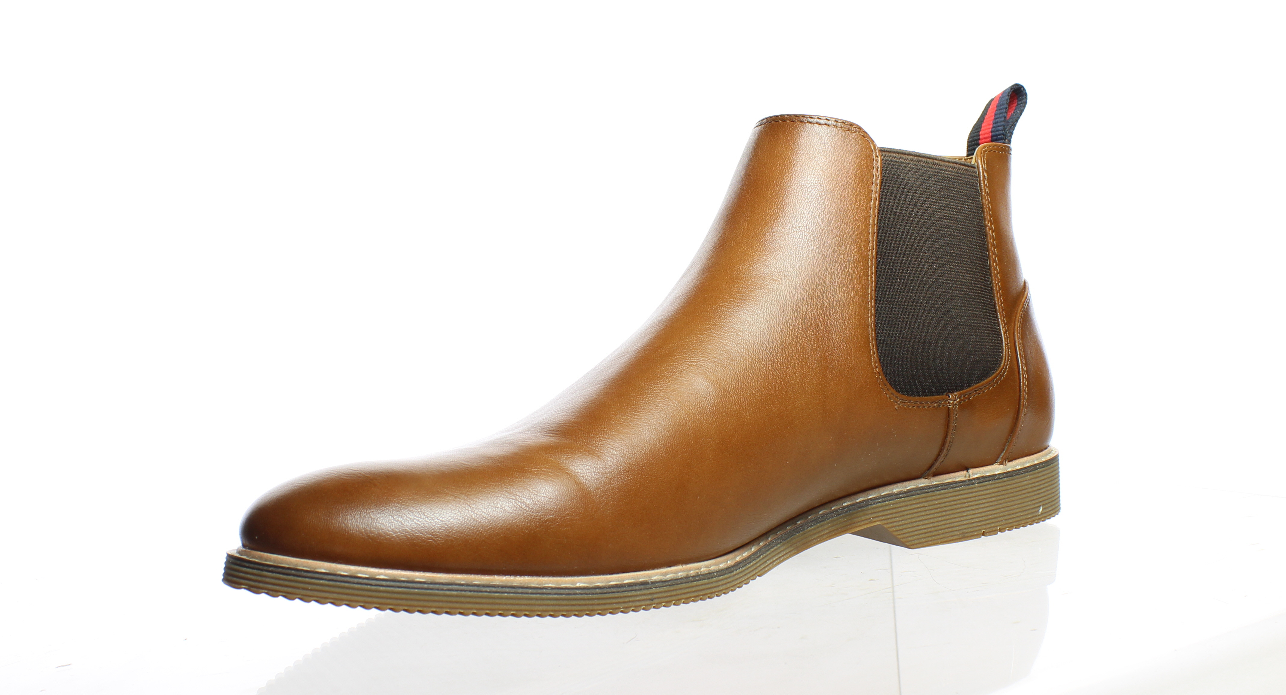 768a7f581e5 Details about Steve Madden Mens Native Tan Ankle Boots Size 11 (382831)