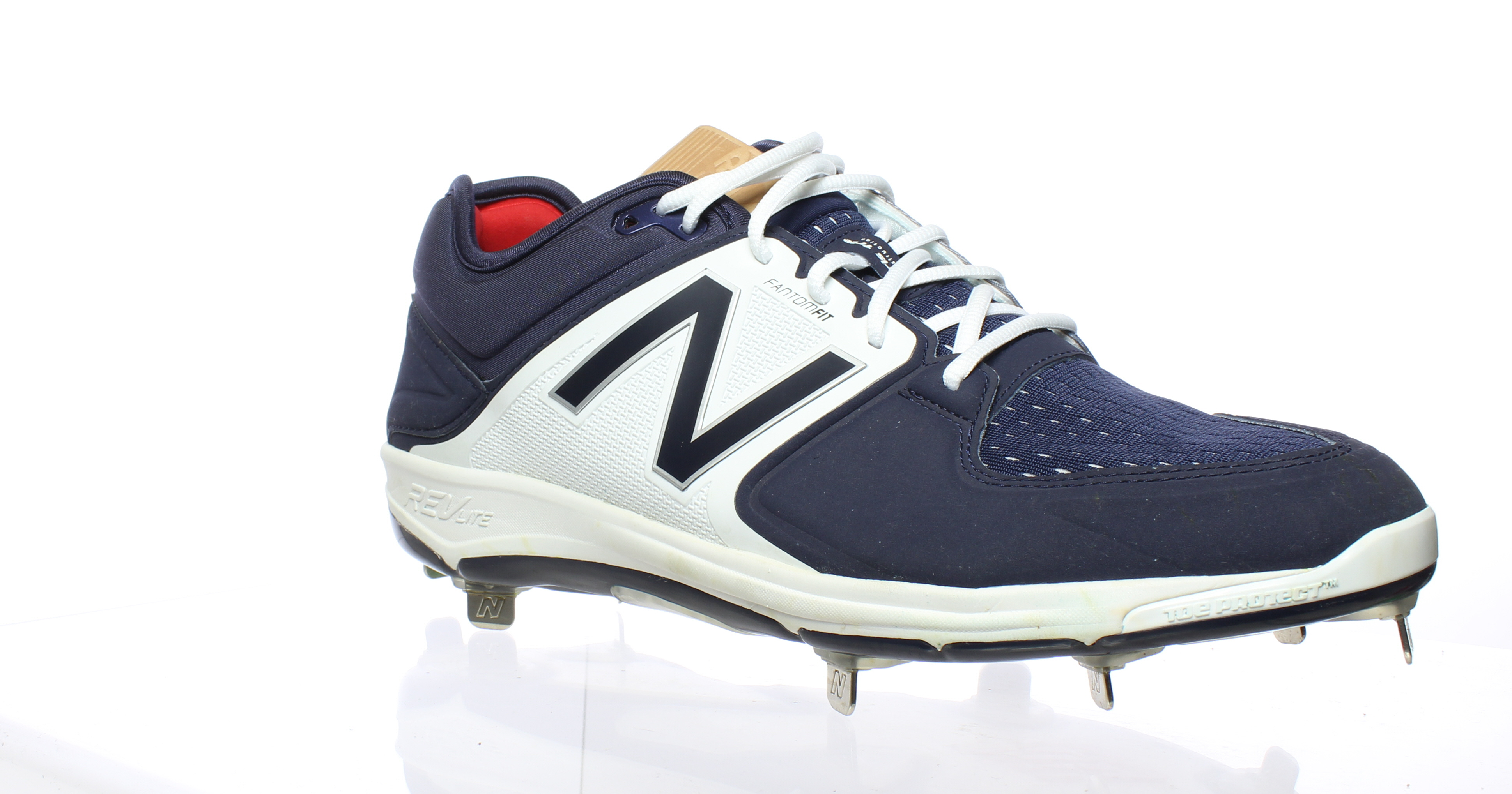 2e2e077e Details about New Balance Mens L3000tn3 Navy/White Baseball Cleats Size 13  (392712)