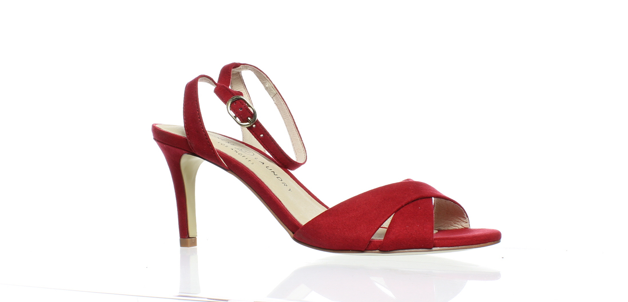 8e30d3b1d18 Chinese Laundry Womens Rosita Red Ankle Strap Heels Size 7 (43944 ...