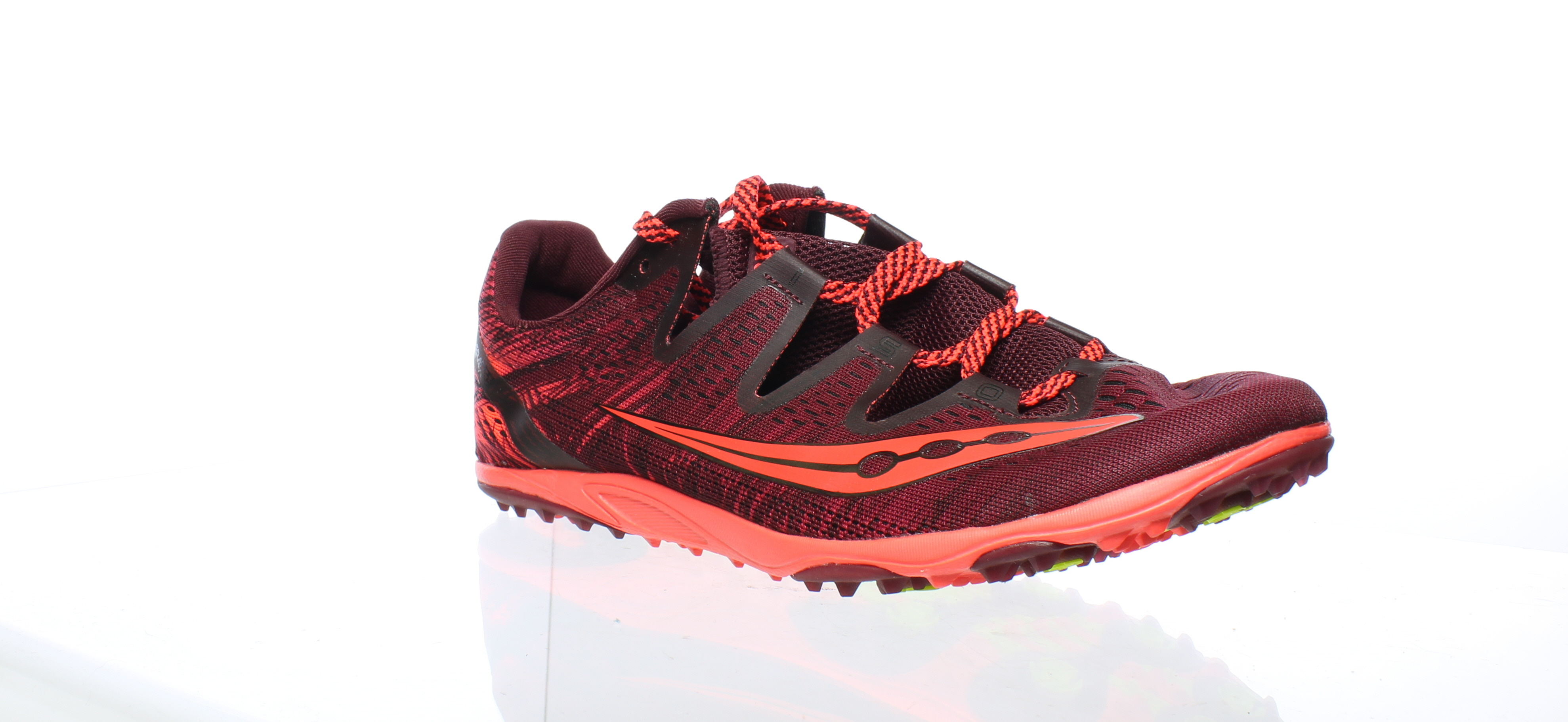 1384aa7d Details about Saucony Womens Carrera Xc 3 Berry/Vizi Red Running Shoes Size  9.5