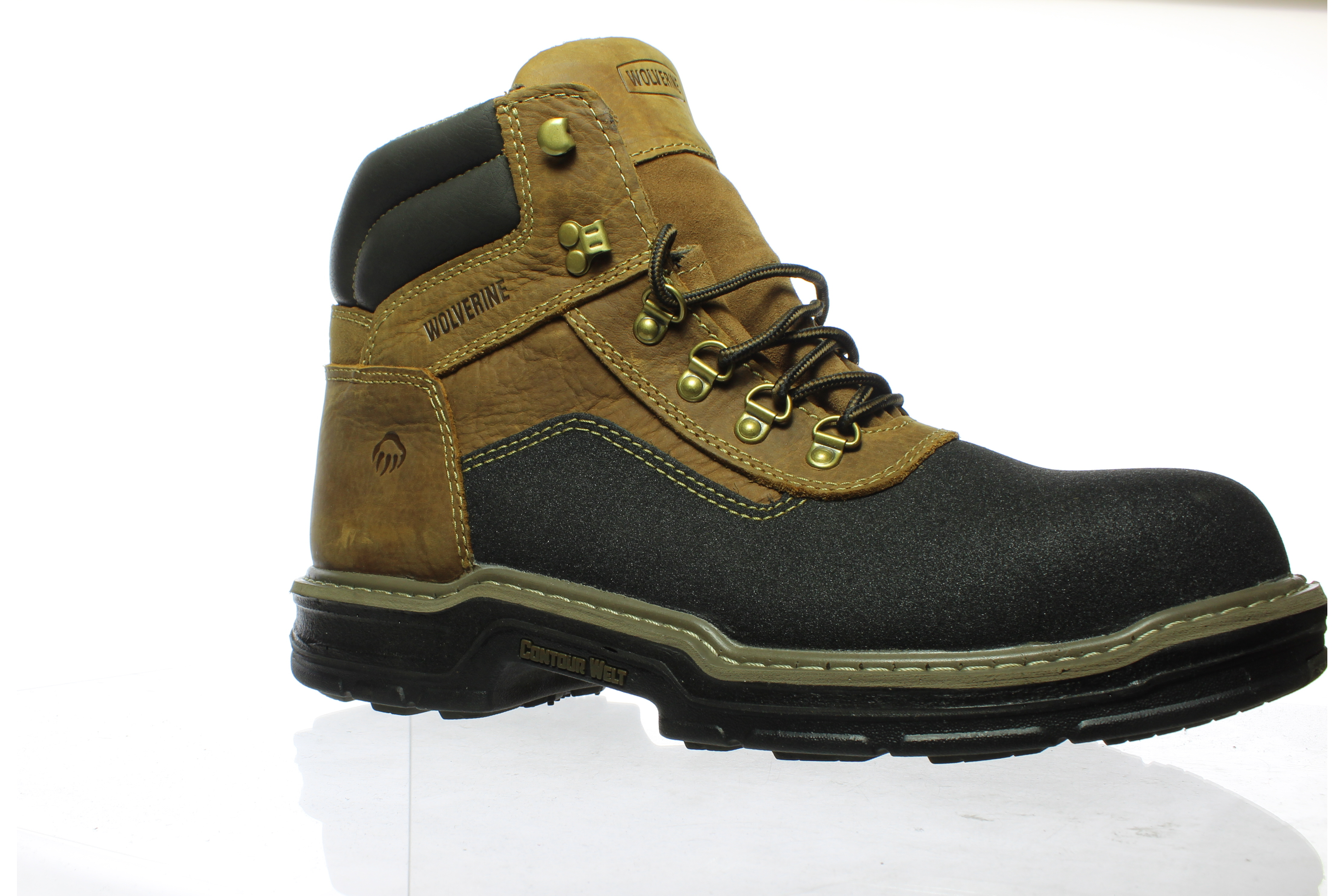 36fa1307f7e Details about Wolverine Mens Corsair 6&Quot; Ct-M Brown Work & Safety Boots  Size 10.5 (E, W)
