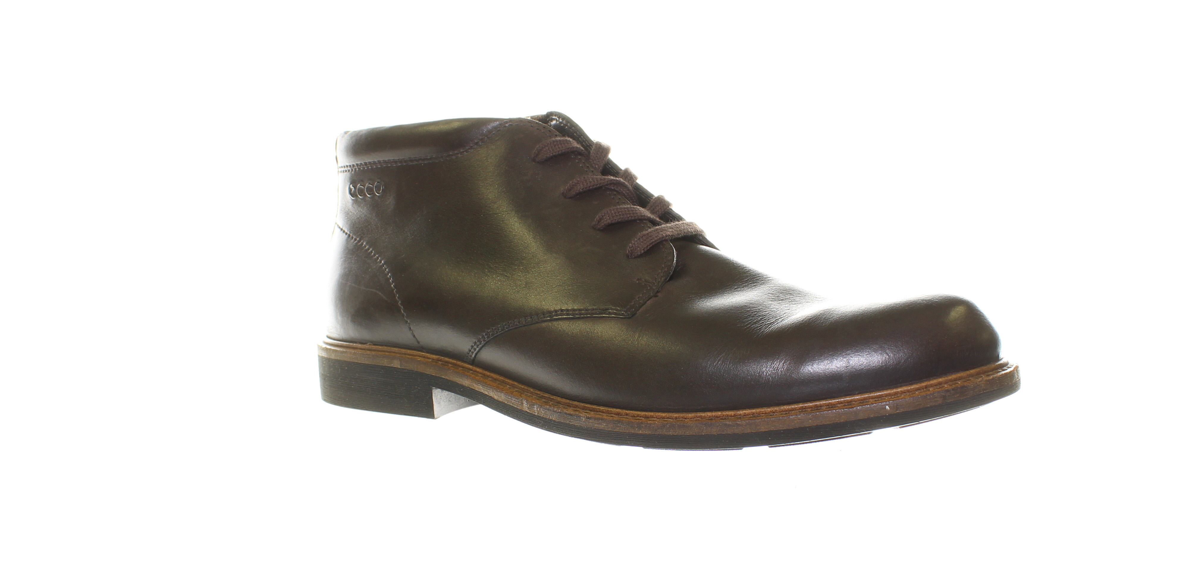 ede961a8 Details about ECCO Mens Turn Gtx Boot Coffee Ankle Boots EUR 44 (450261)