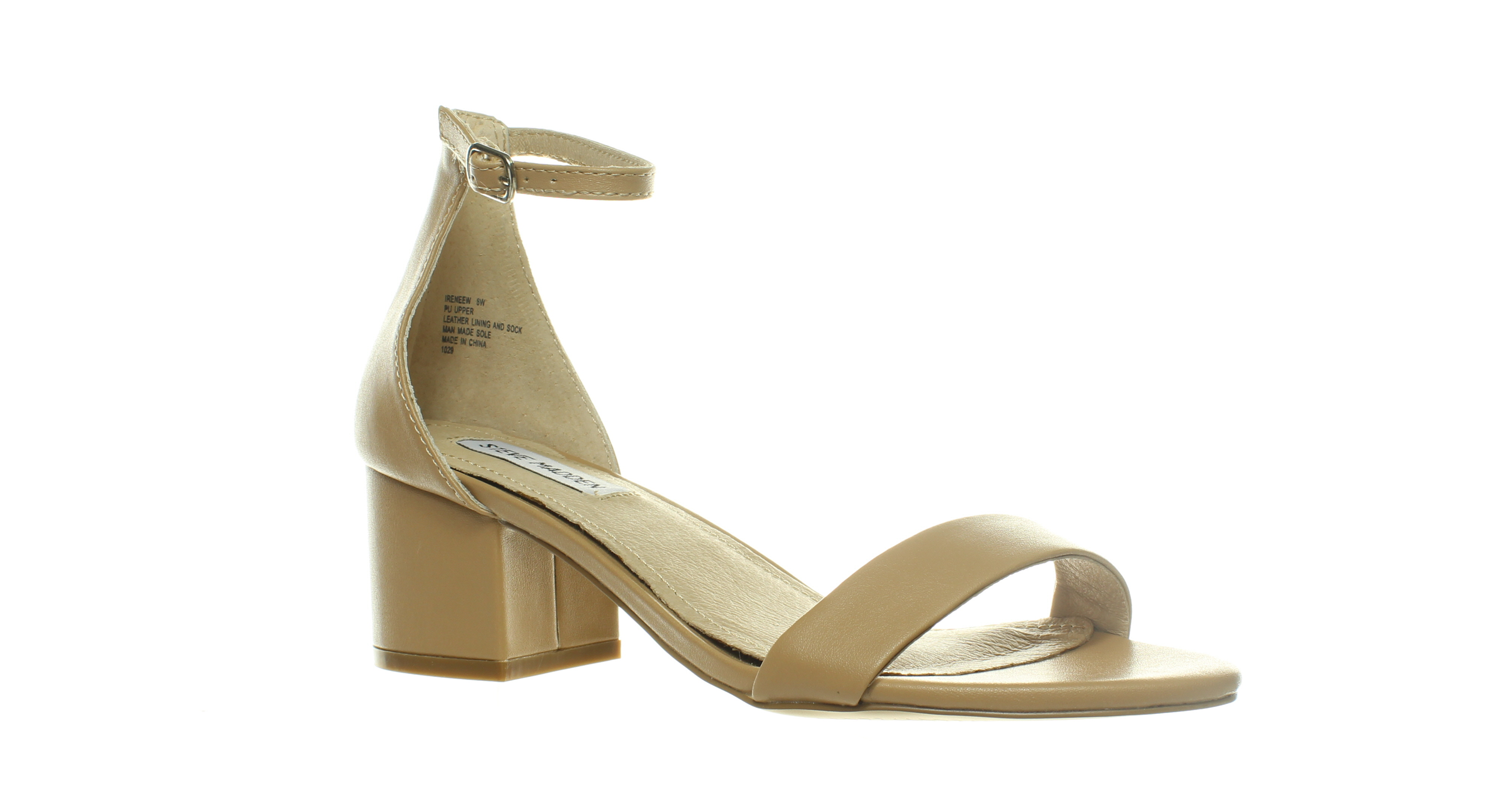 a7654e25b30 Details about Steve Madden Womens Irenee Blush Ankle Strap Heels Size 8  (C,D,W) (452050)