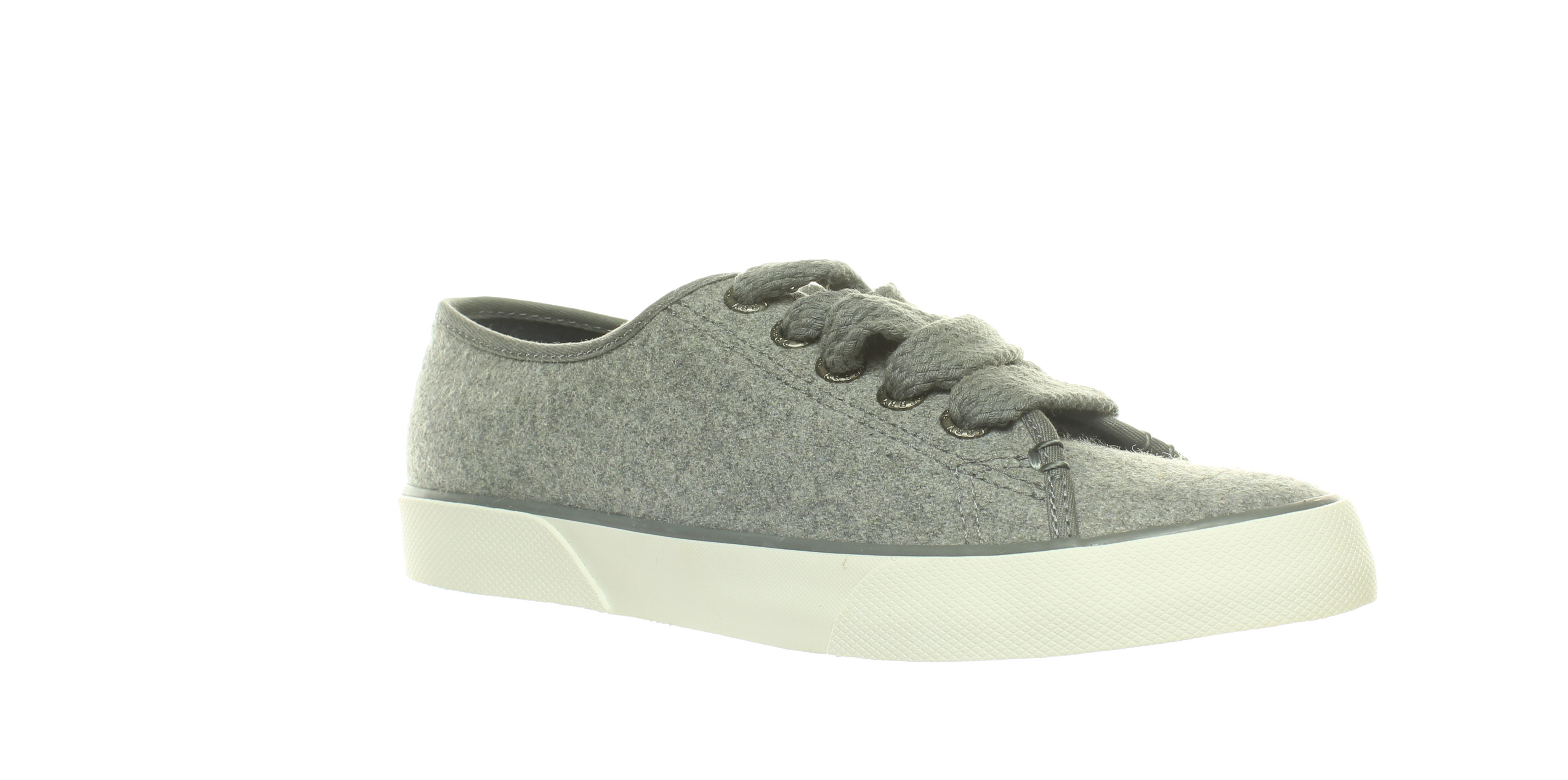 Sperry Top-Sider  Pier View Elastic Back Grey Canvas STS80035  WO/'S SIZE 7 M