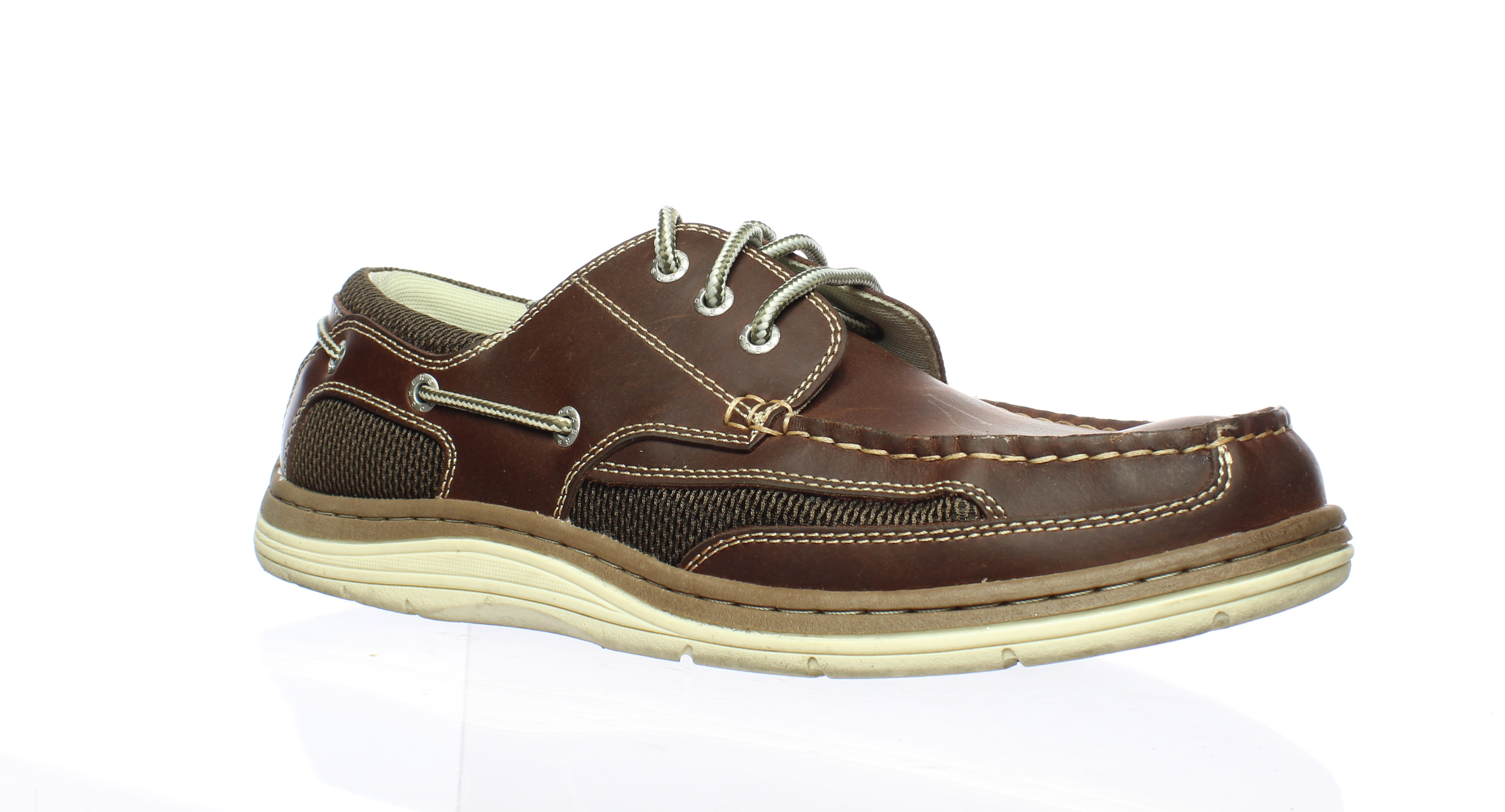 low priced the latest utterly stylish Details about Dockers Mens Lakeport Red/Brown Boat Shoes Size 10.5 (498400)
