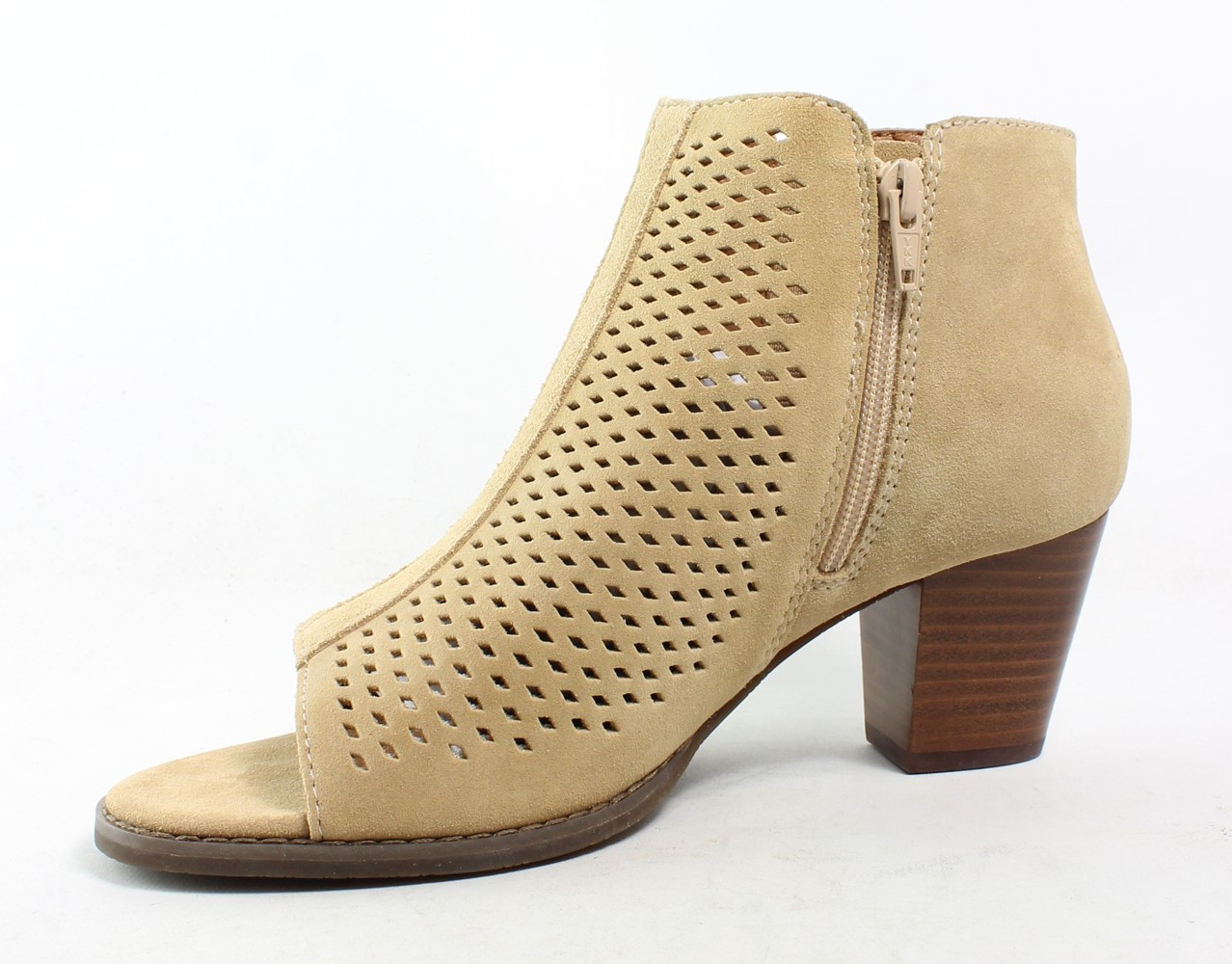Vionic-Womens-Aloft-Chryssa-Suede-Open-Toe-Fashion-Ankle-Zip-Boots thumbnail 14