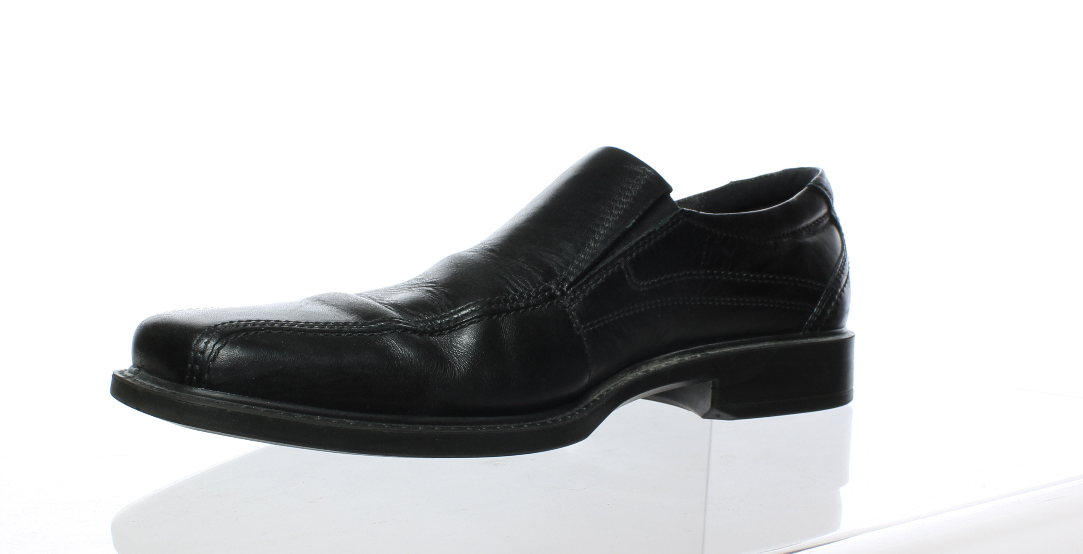 ECCO MENS Black Loafers Size 12.5 (65637)