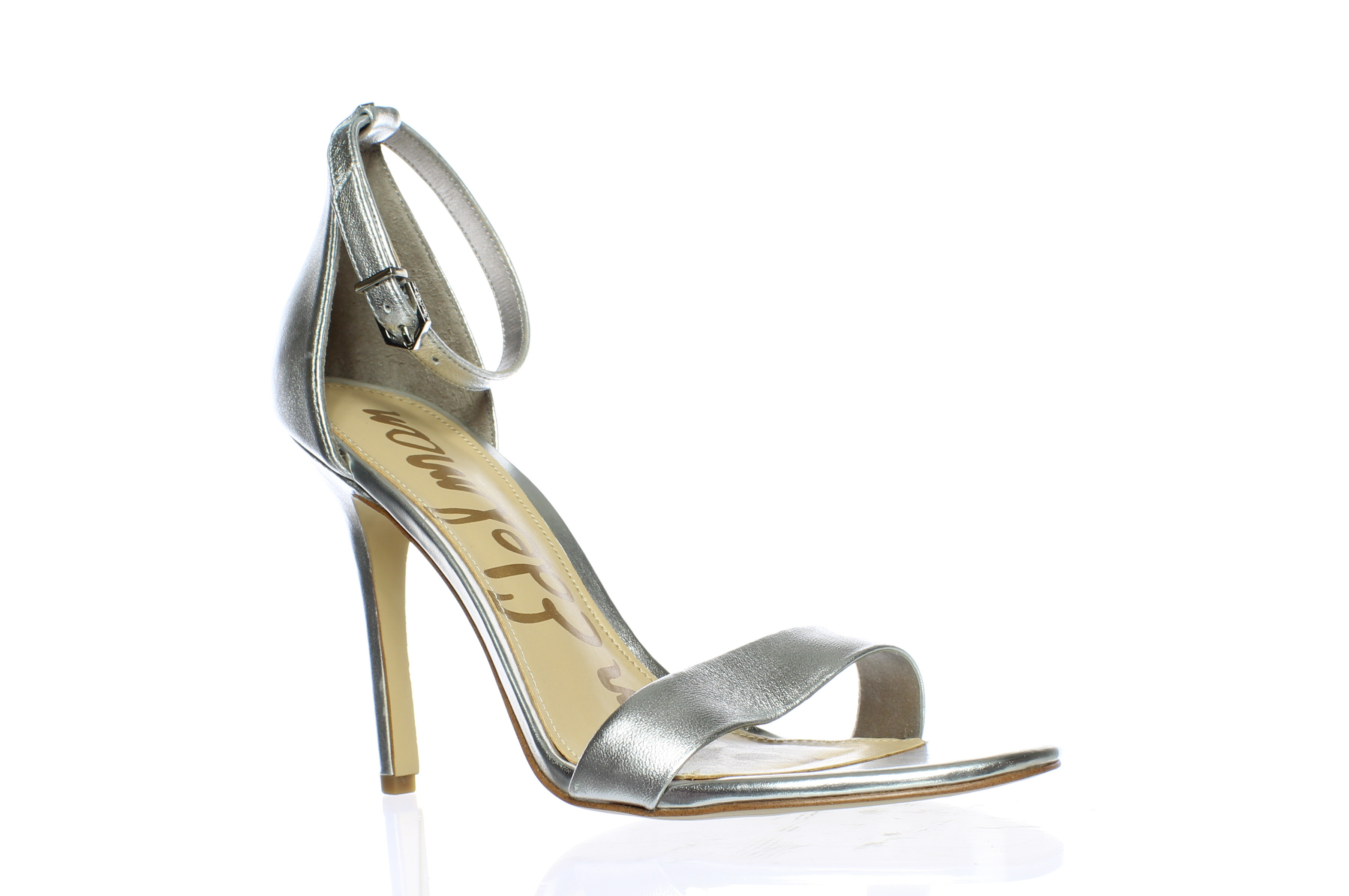 9a56ea4062cb3 Details about Sam Edelman Womens Amee Ankle Strap Heels Size 8.5 (66170)