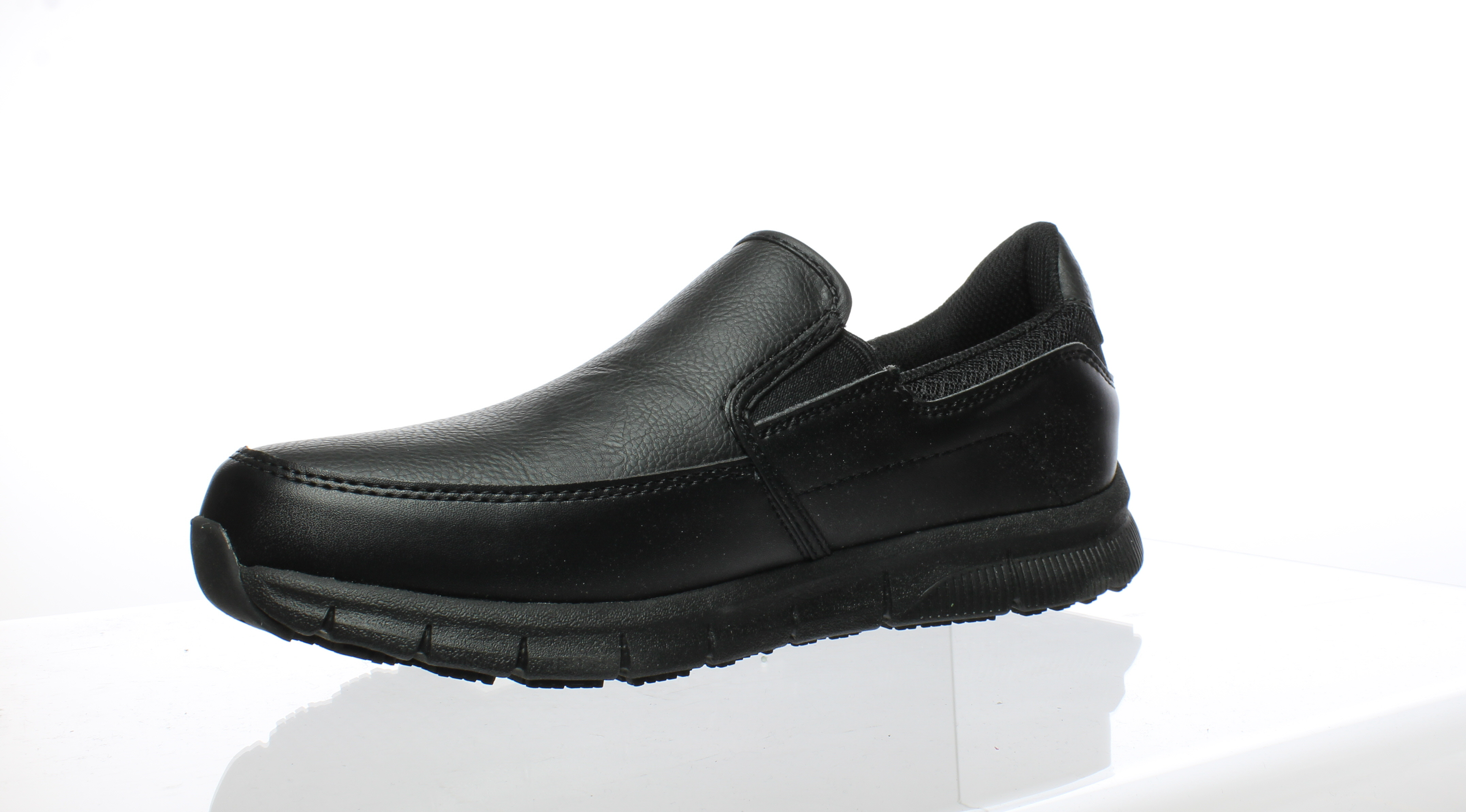 2a15dd0031b383 Skechers Womens 77236 Black Occupational Shoes Size 8.5 (68868 ...