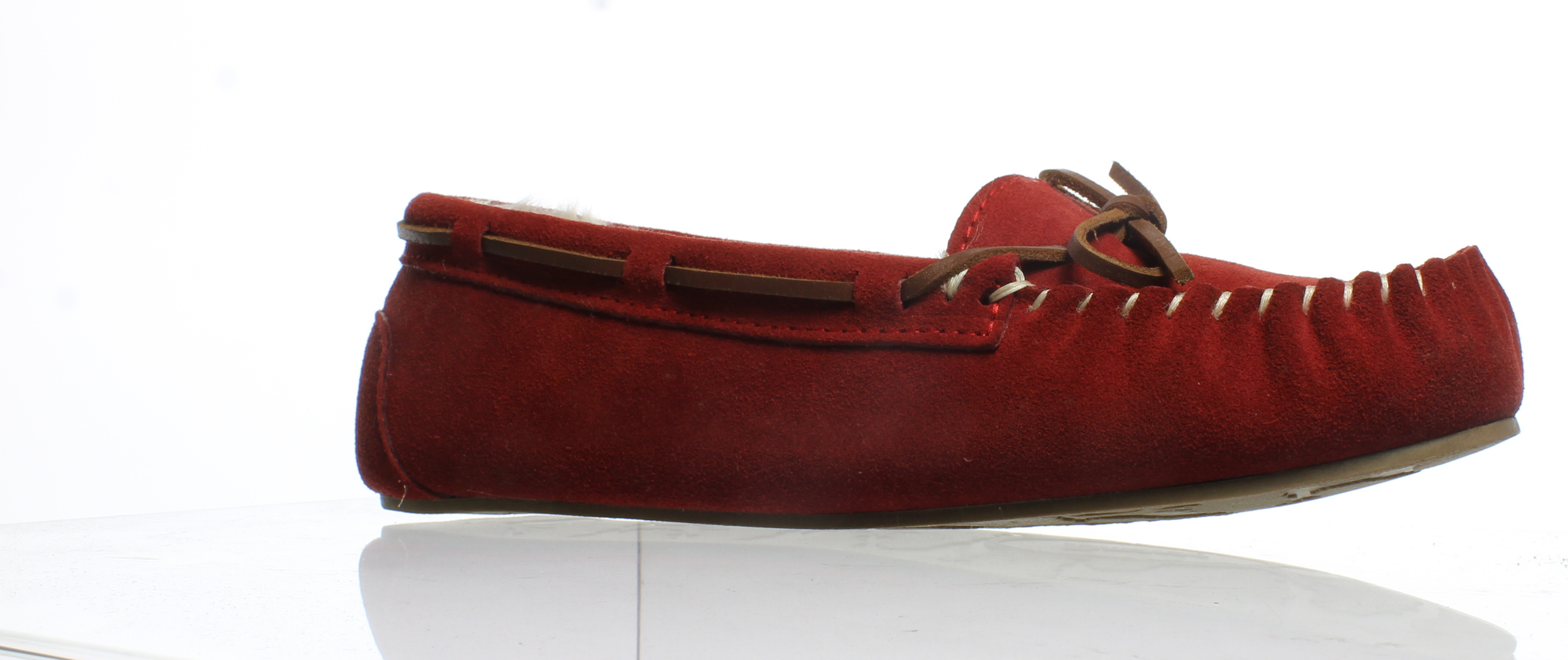 6fb5993e33ee Details about Tamarac by Slippers International Womens Molly Red Mule  Slippers Size 10 (92068)