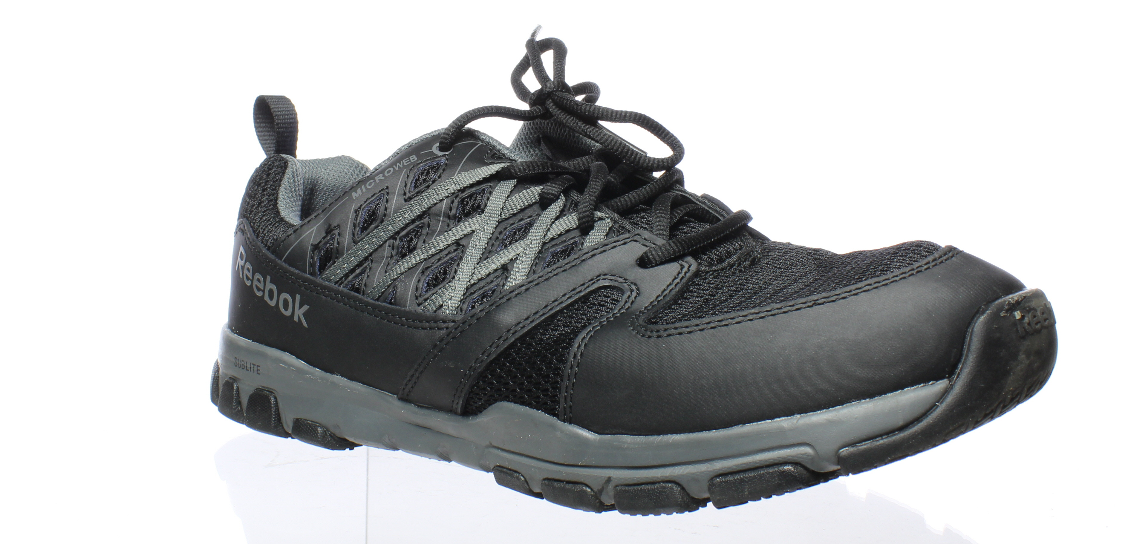 252e884ff3f Reebok Mens Sublite Work Rb4015-M Black Safety Shoes Size 11 (E