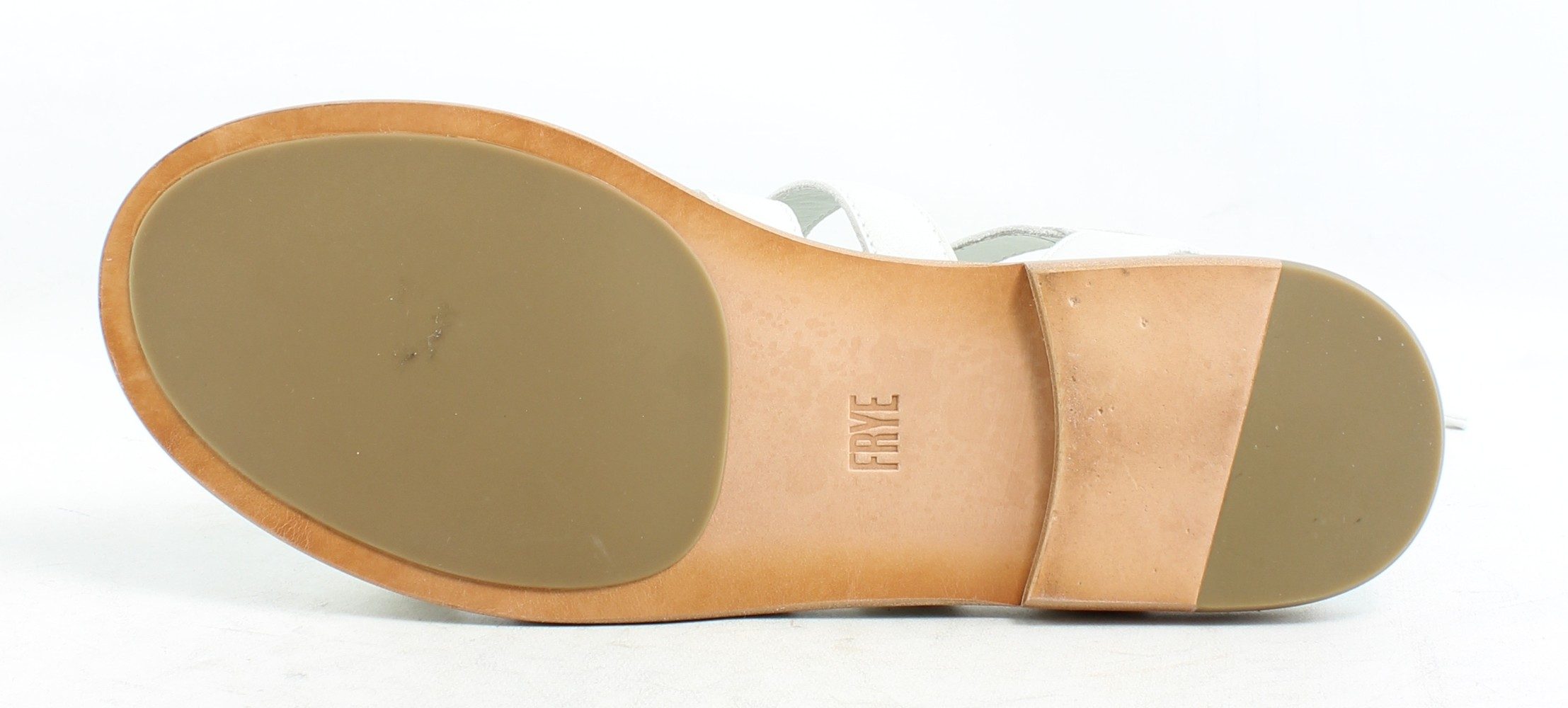 57f92e76fead New Frye Womens Blair Side Ghillie Gladiators Leather Sandals